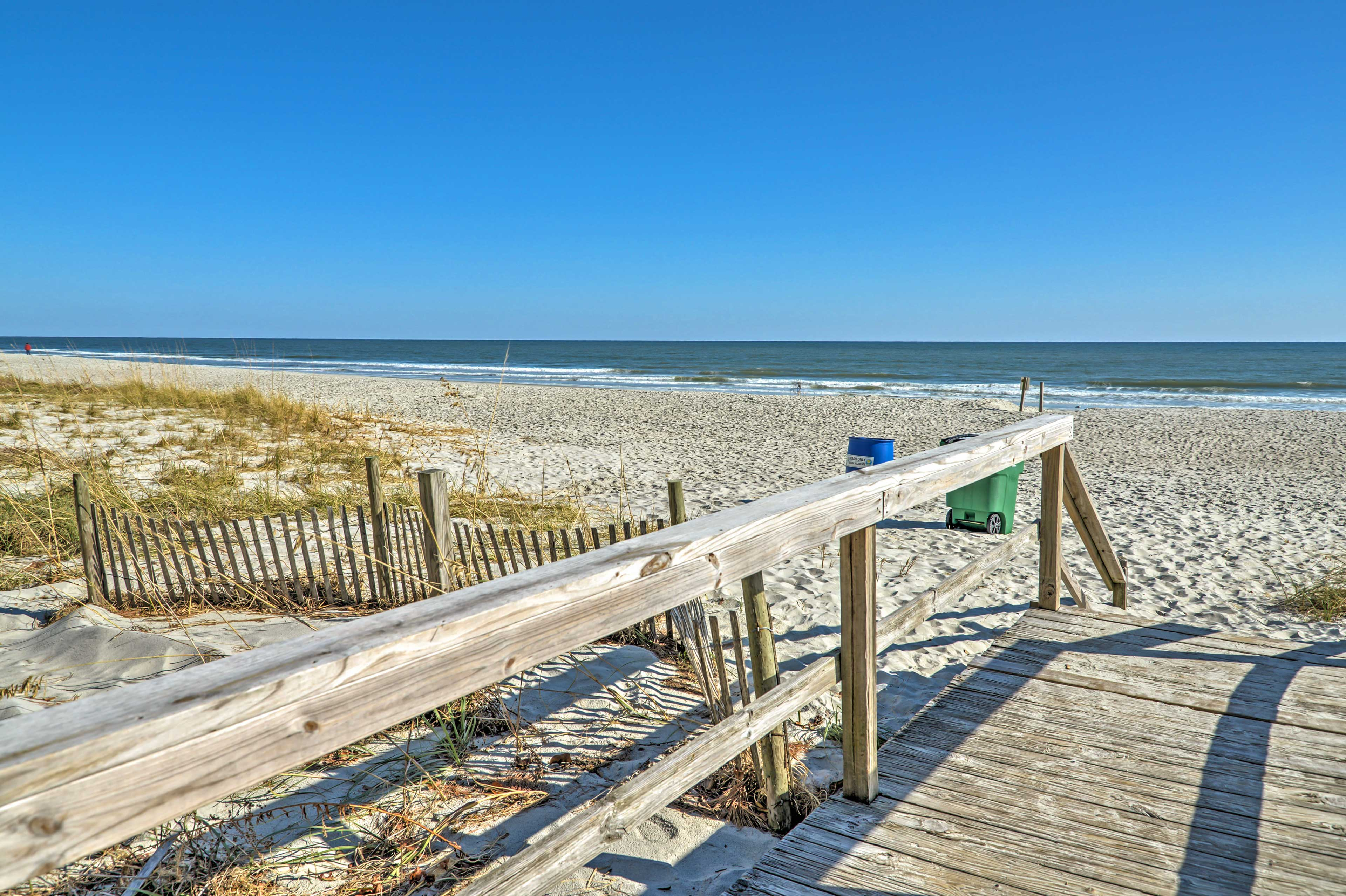 You'll never want to leave this beachside paradise!
