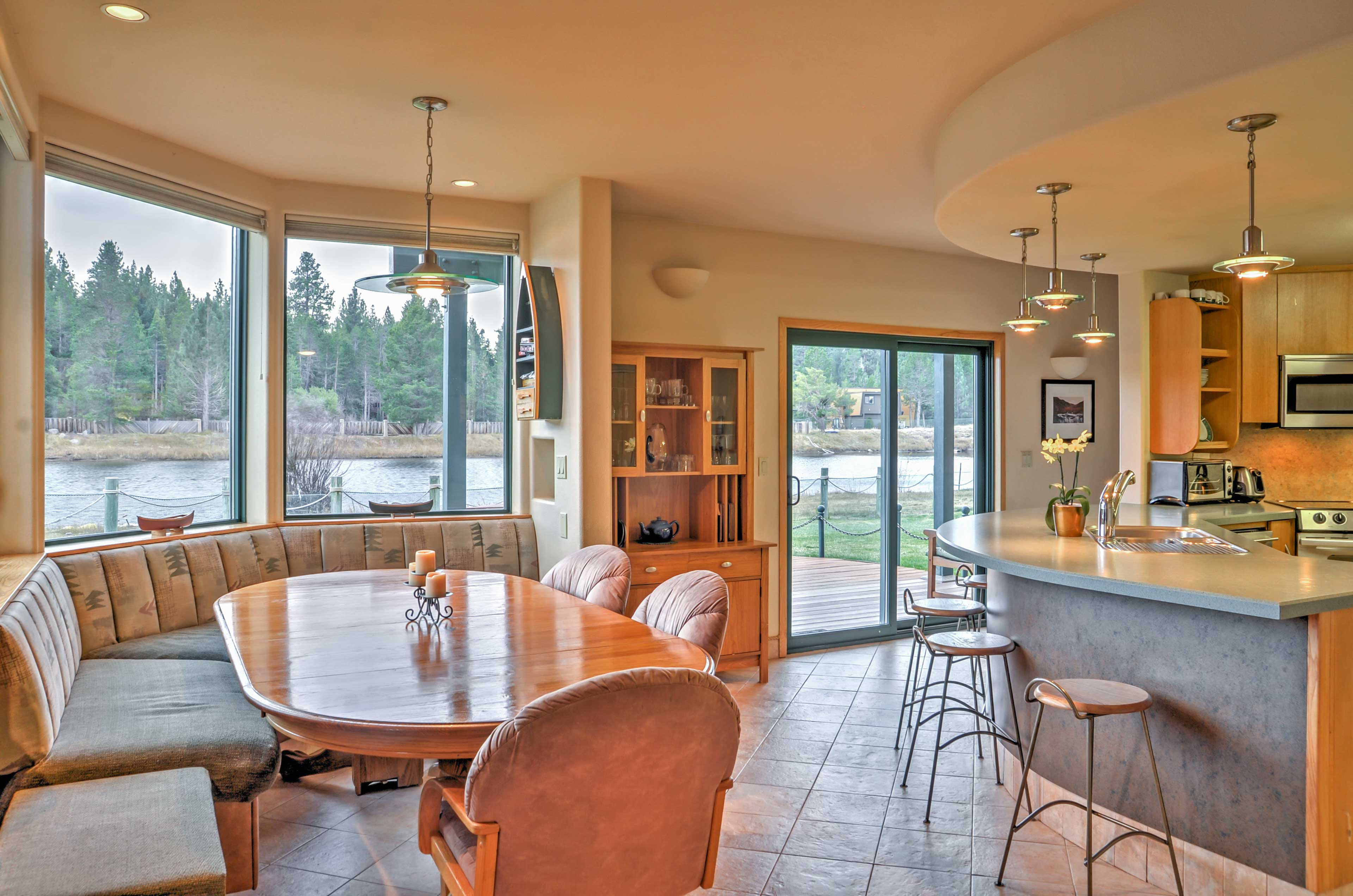 This home boasts 3,000 square feet of beautifully appointed living space.