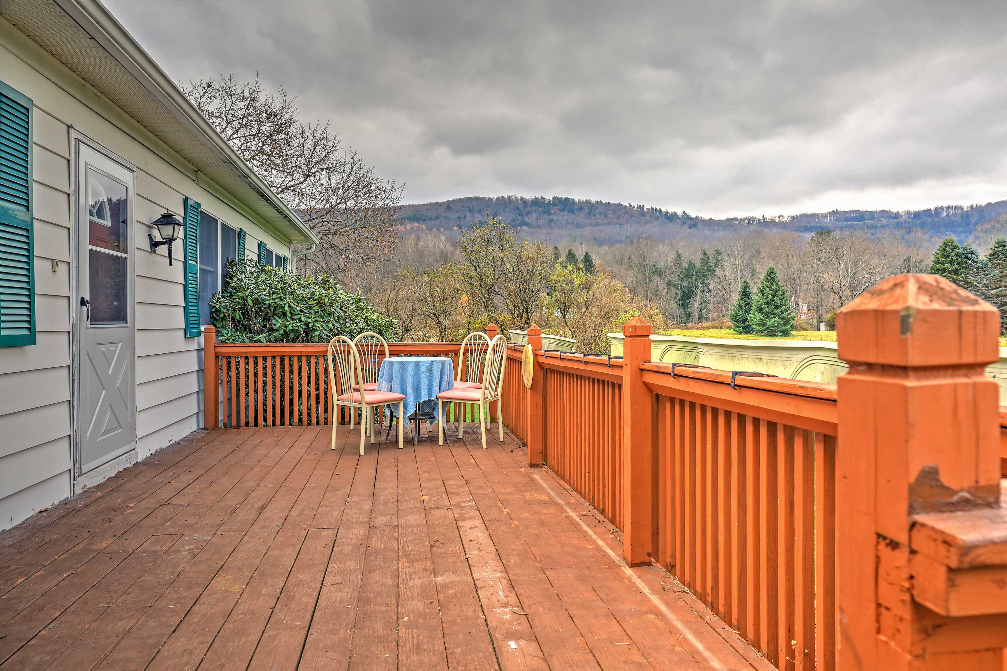 A rejuvenating retreat awaits you at this peaceful Otego vacation rental home!
