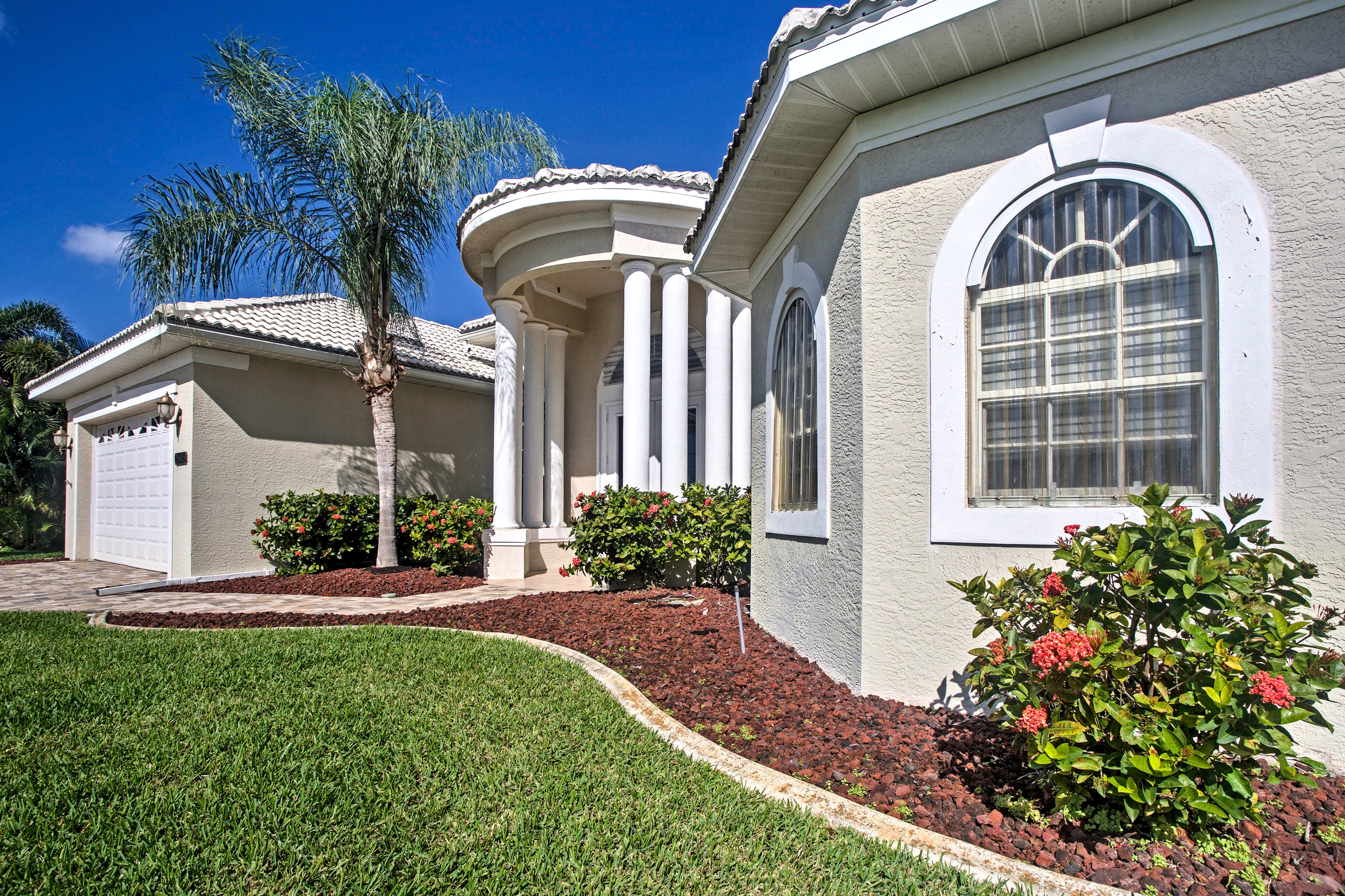 Have the ultimate Cape Coral getaway at this fabulous vacation rental house!