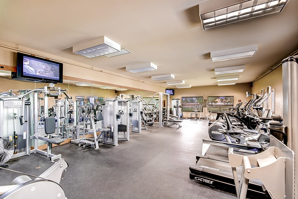 Get your pump on in the community fitness center!