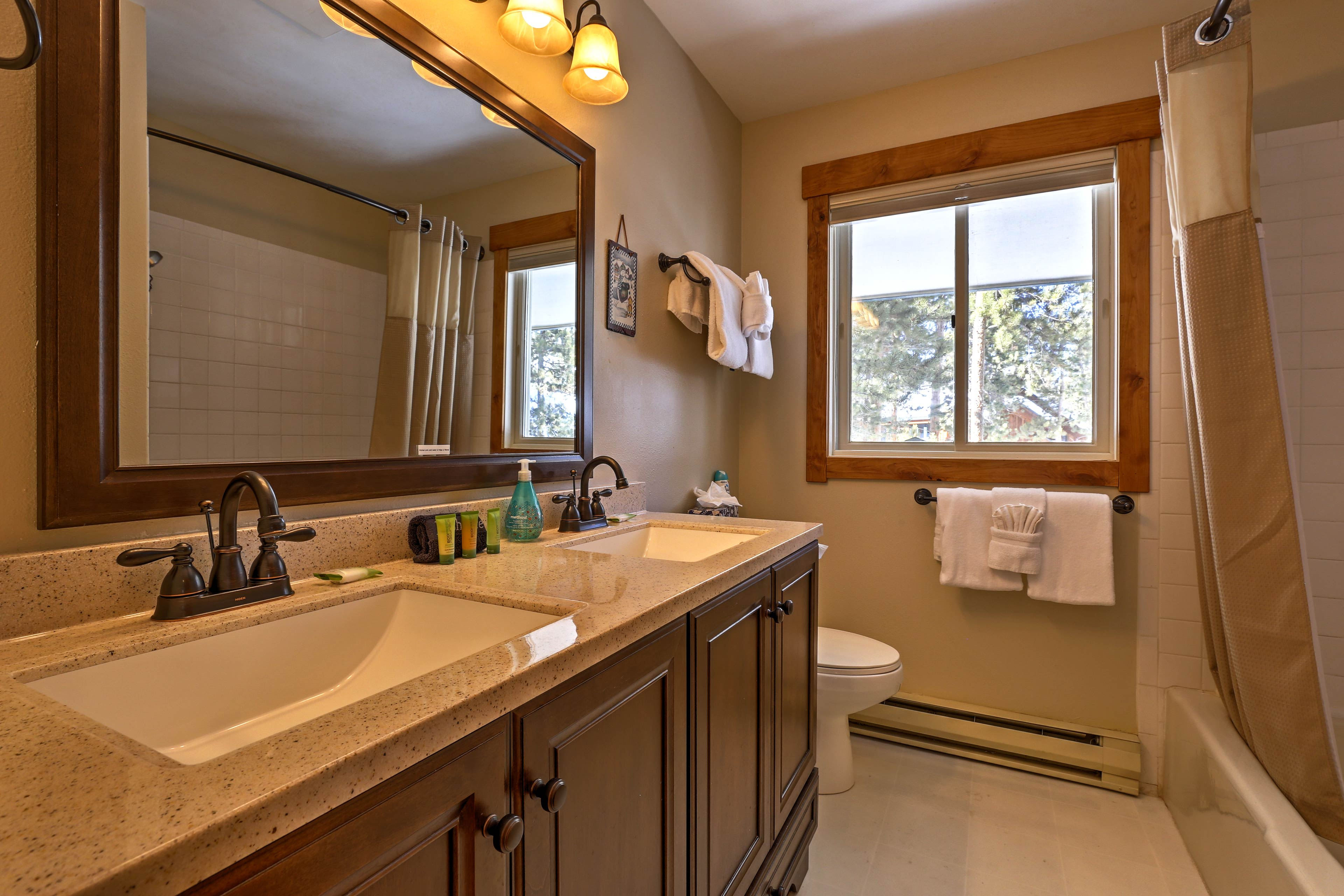There are 3 full bathrooms featured in this home.