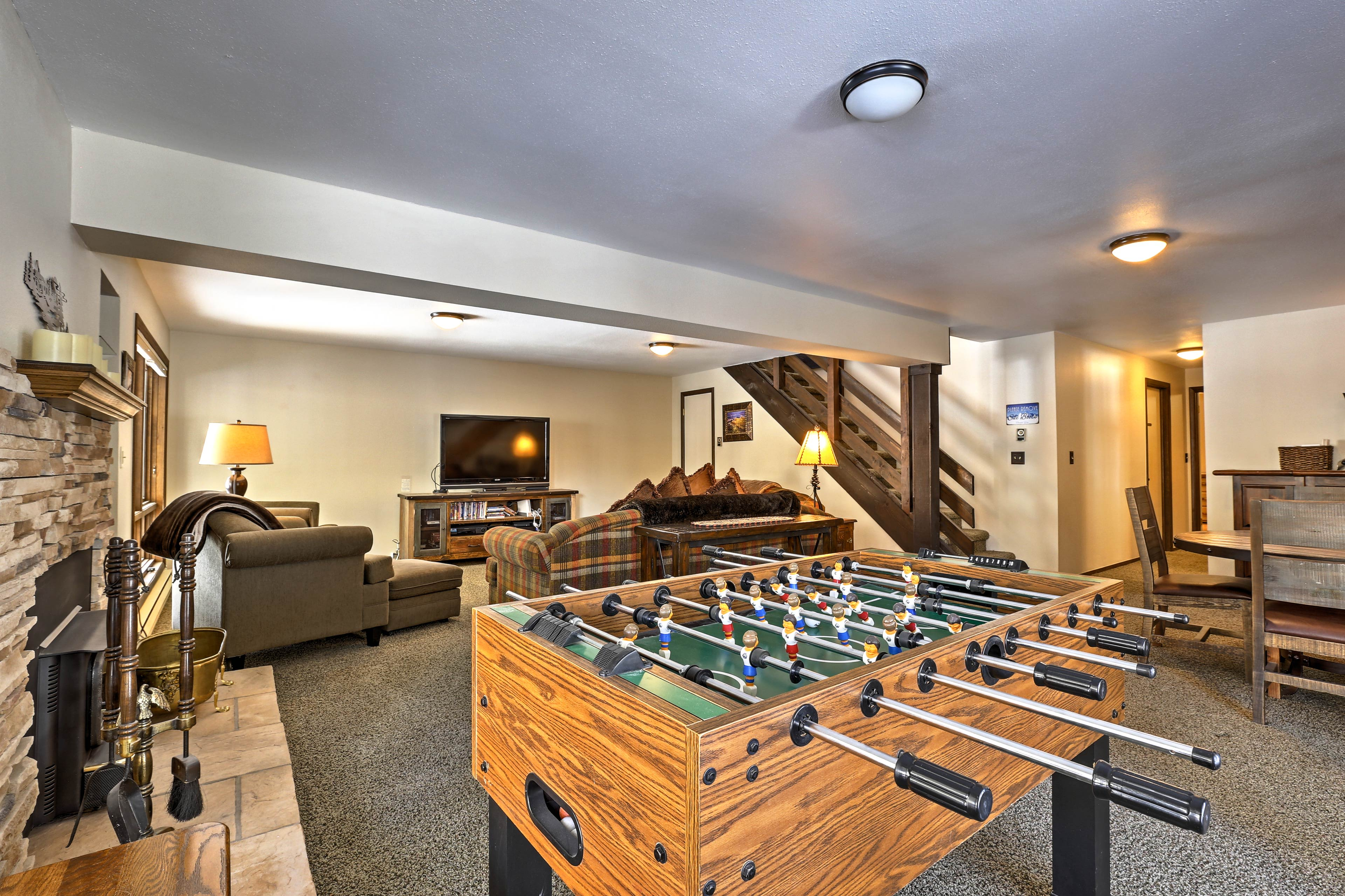 Play a game of Foosball!