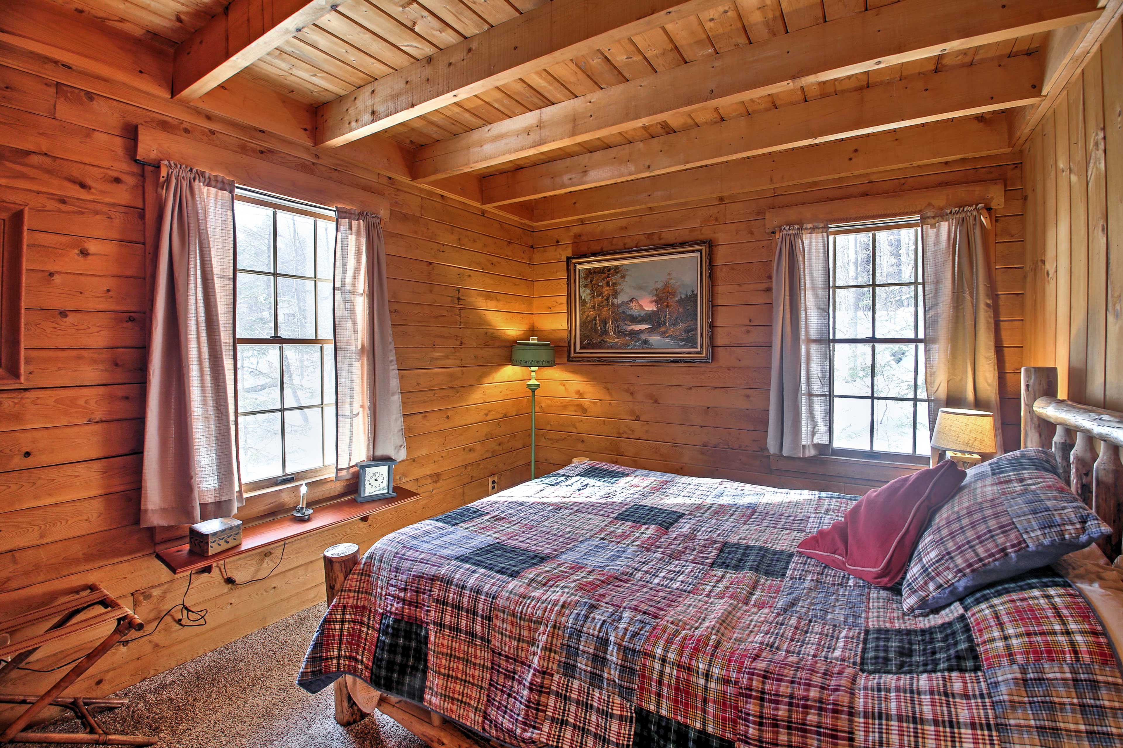 Rise and shine to ample natural sunlight in the second bedroom.