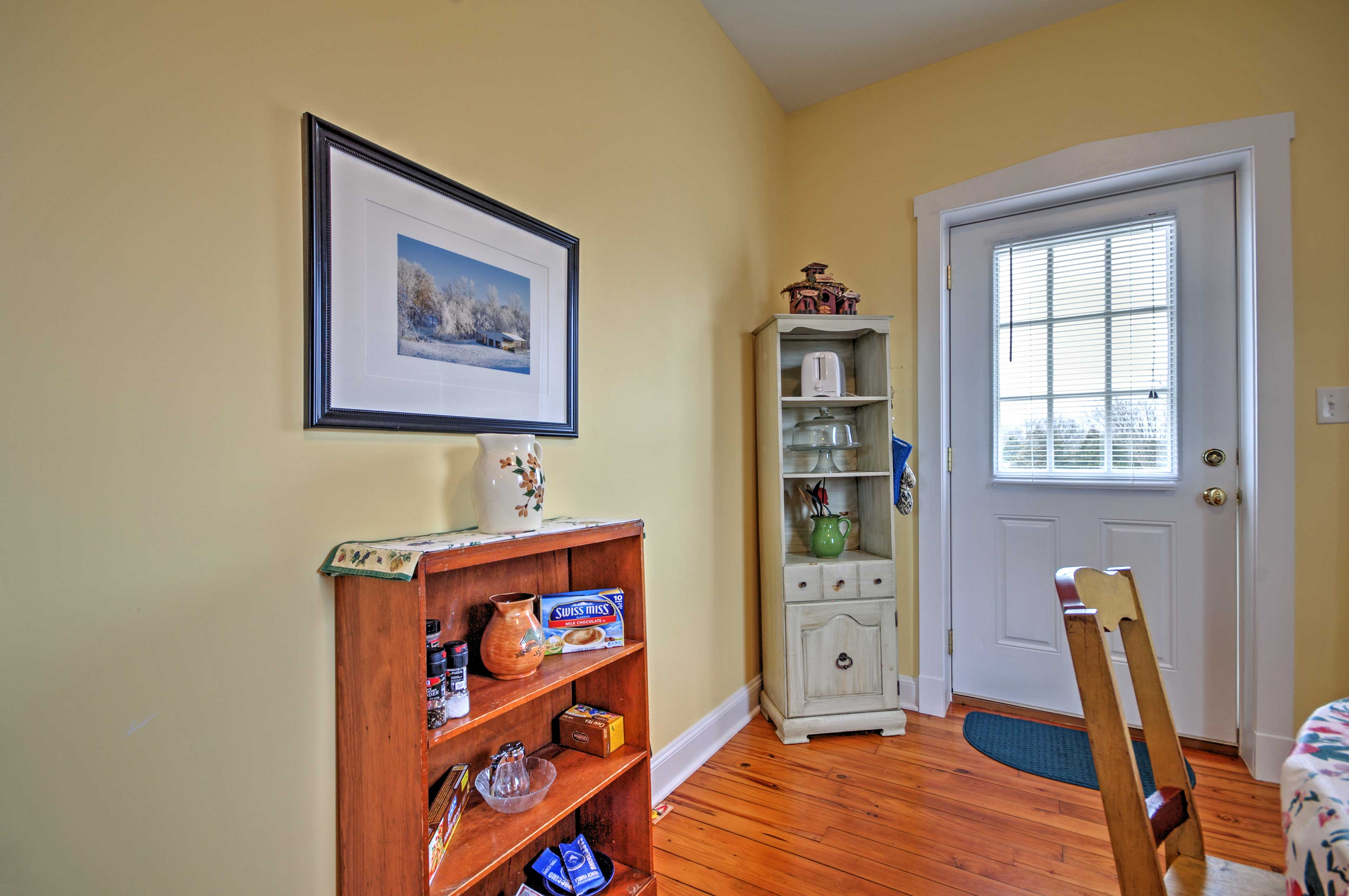 You'll love returning home to this charming living space at the end of each day.