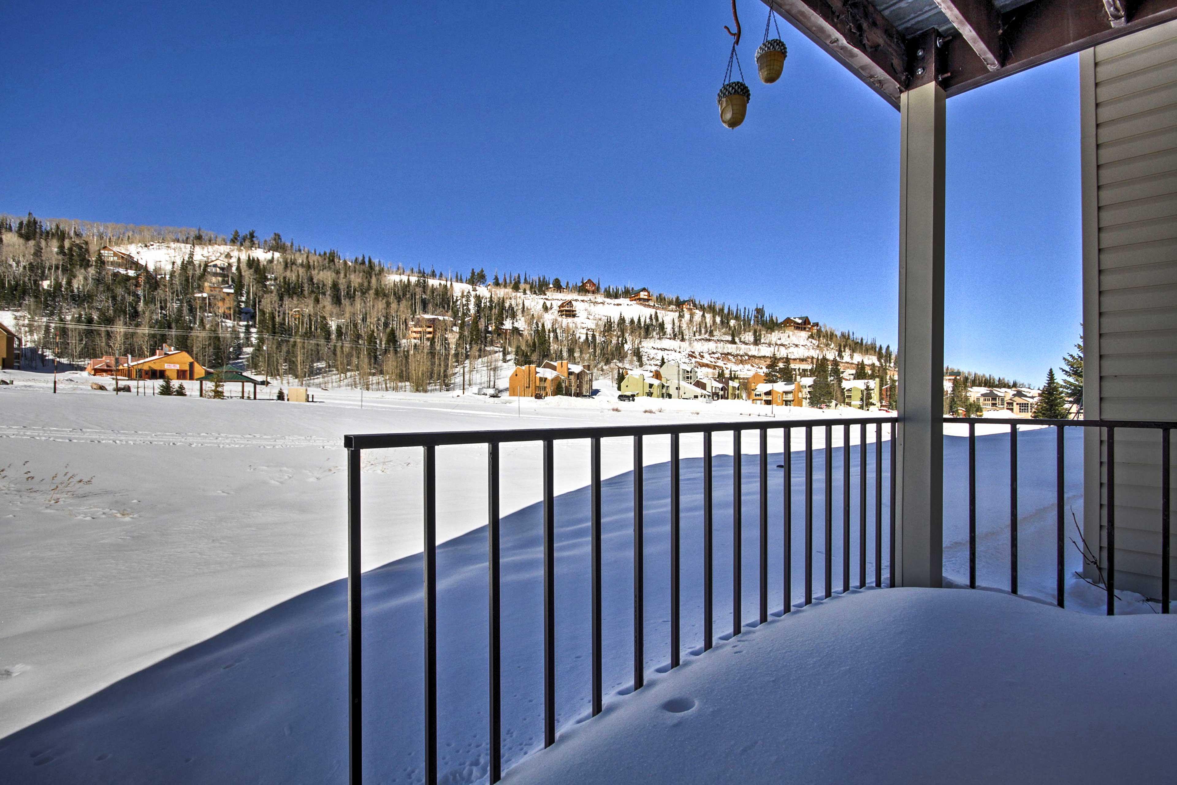 A mountain retreat awaits at this fantastic Brian Head vacation rental condo!