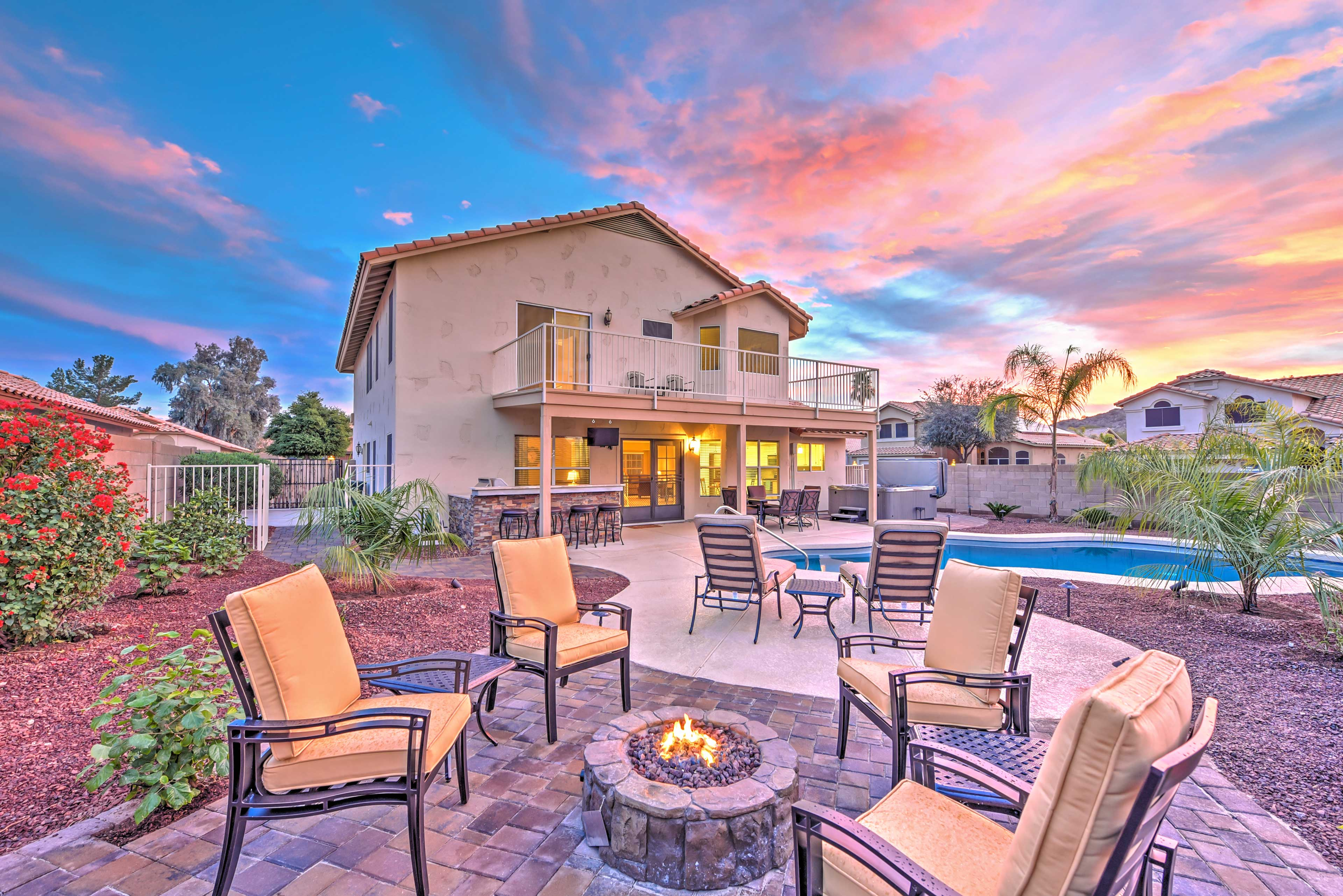 Your Goodyear retreat awaits in this tranquil 4-bedroom vacation rental home!