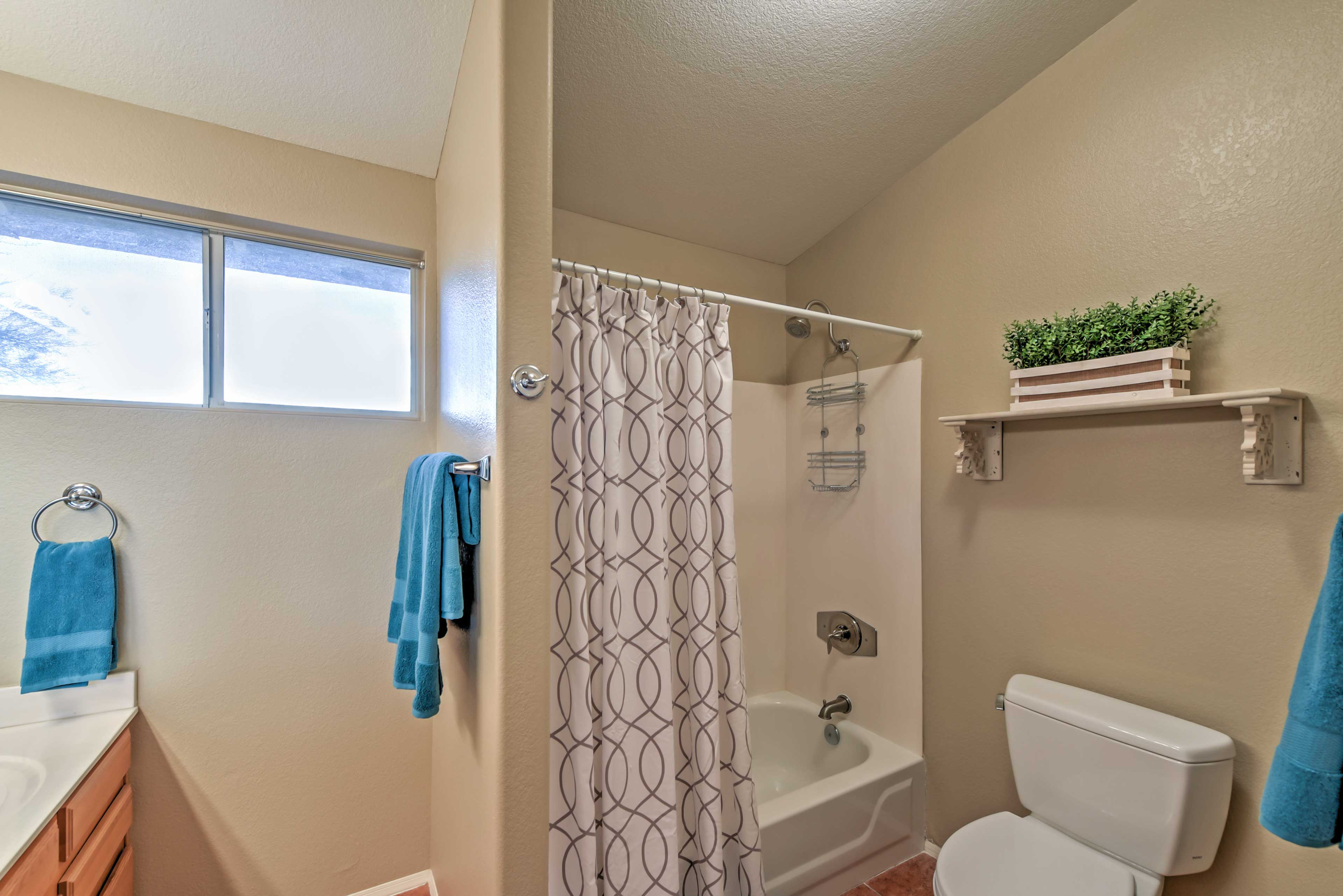 Linens and towels are provided for your stay.