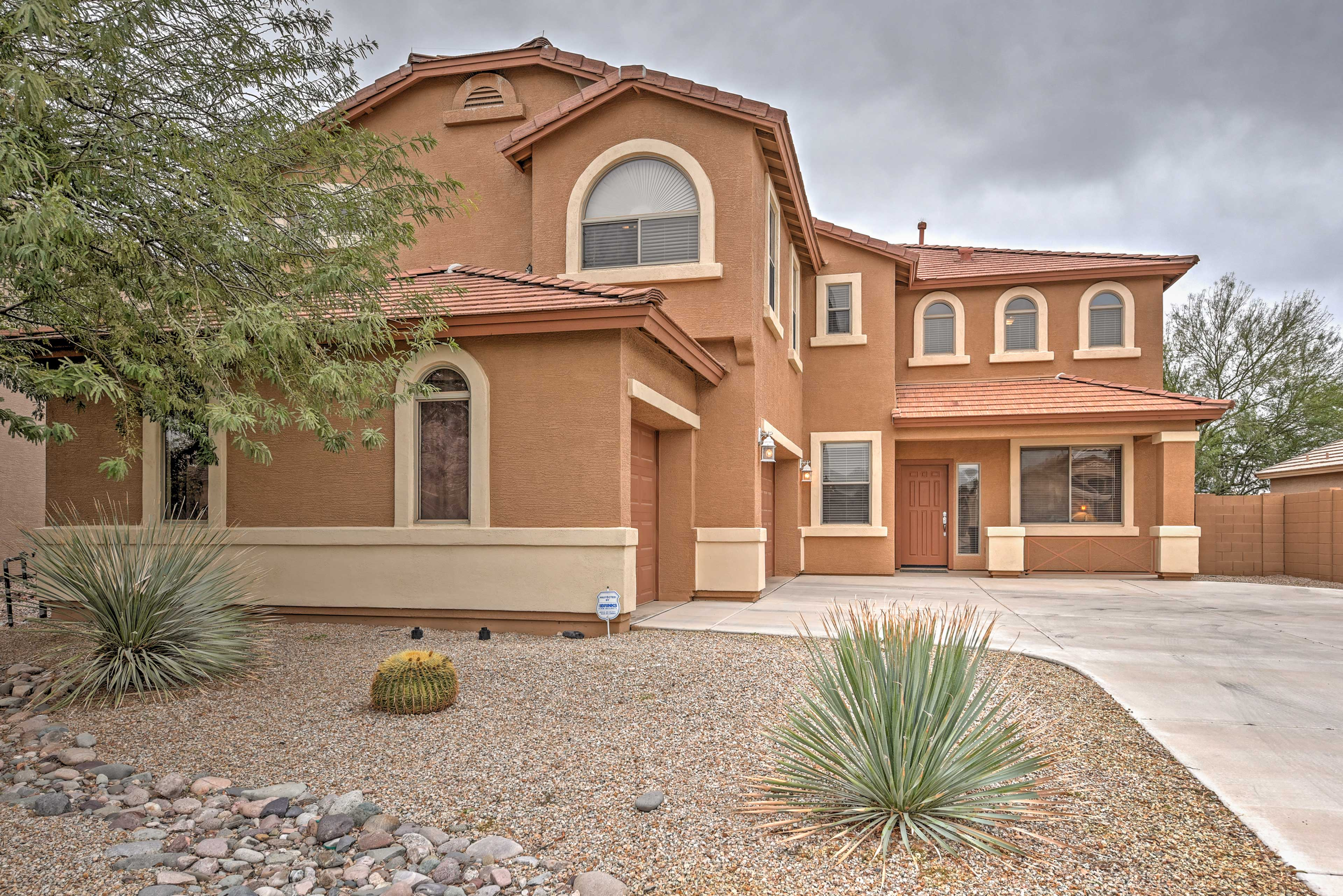 This home is minutes from the best of Phoenix.
