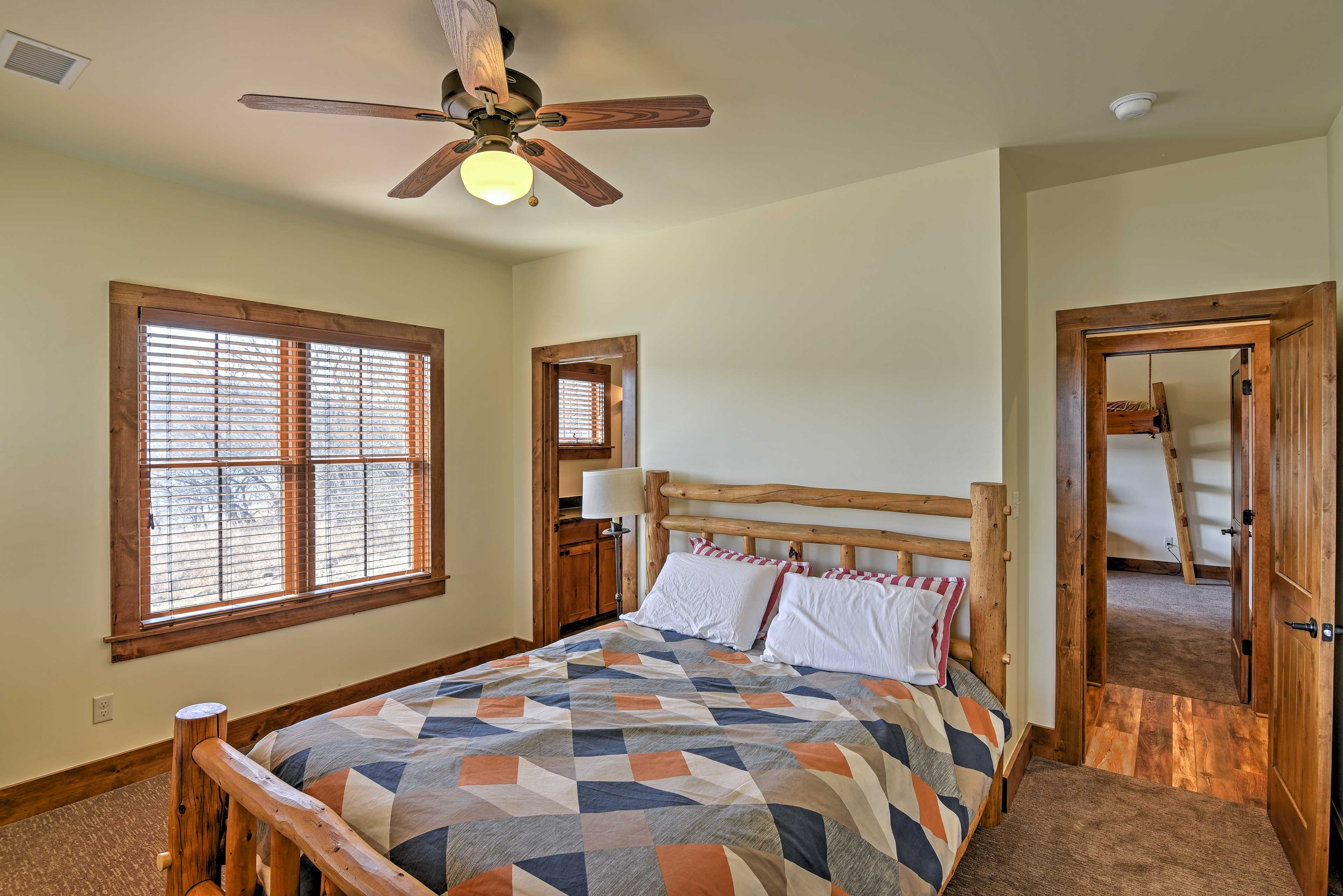 The second bedroom offers a comfortable queen as well as the first!