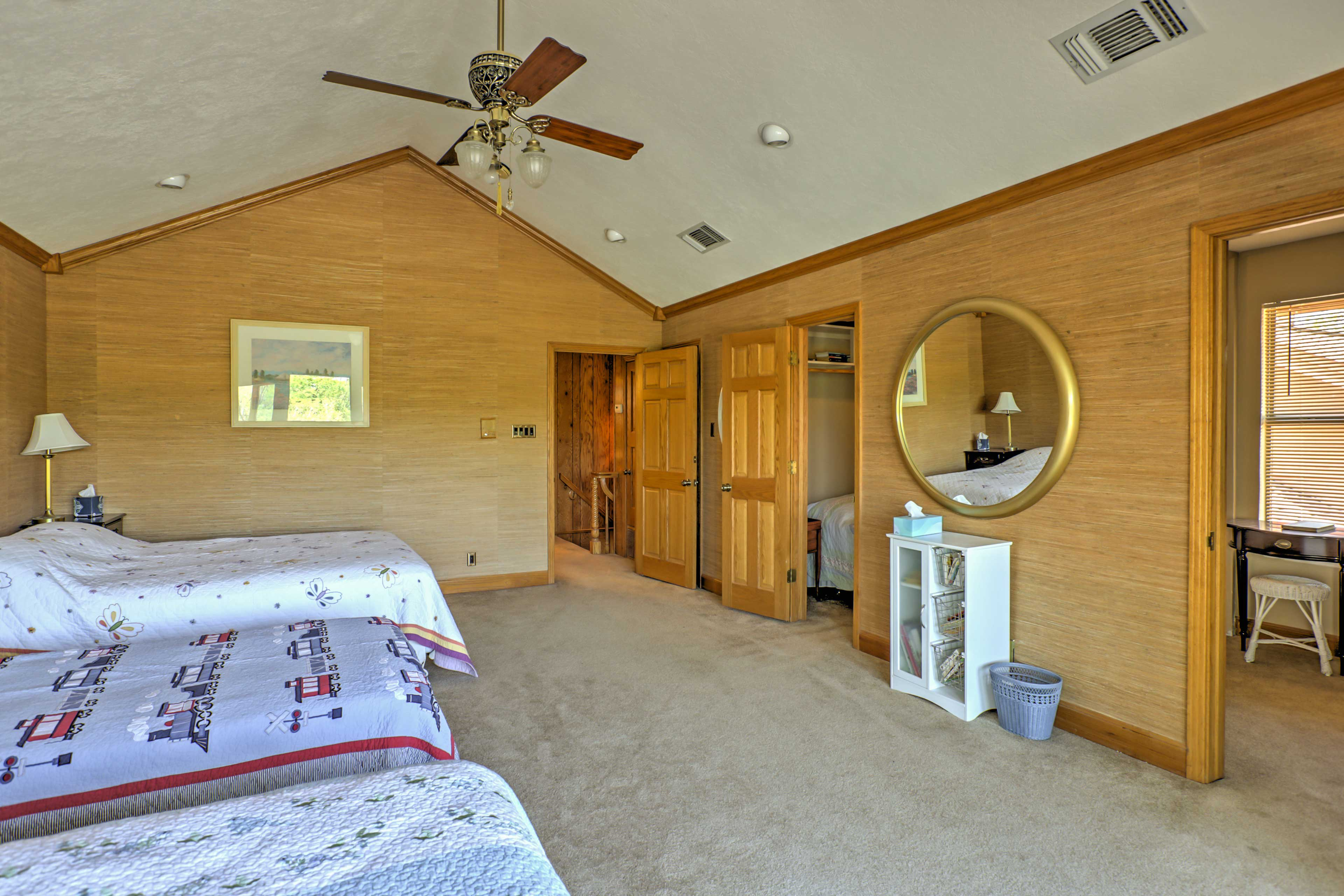 This spacious room is perfect for siblings sharing a room!
