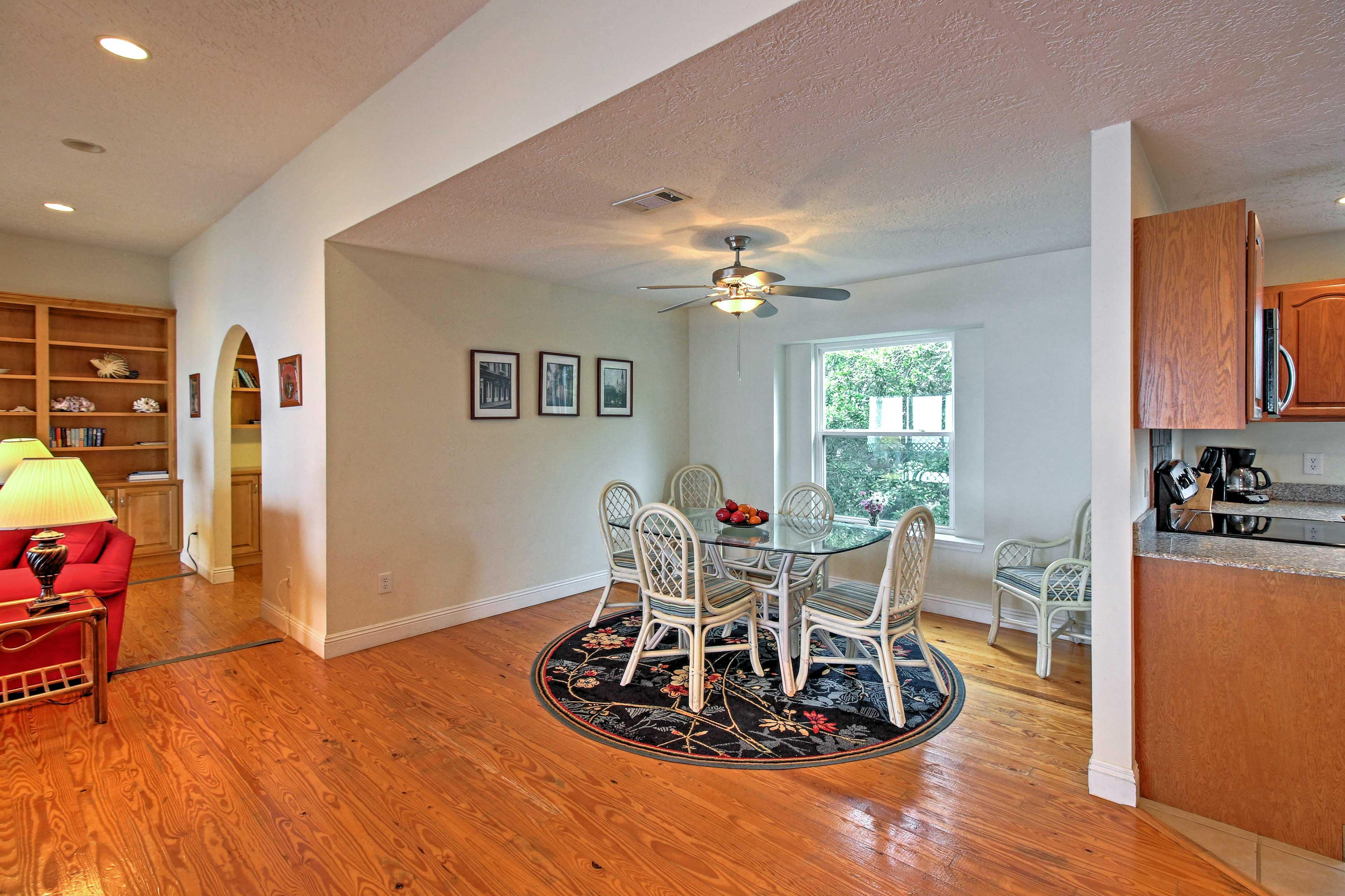Offering an open floor plan, this home boasts an abundance of natural light.