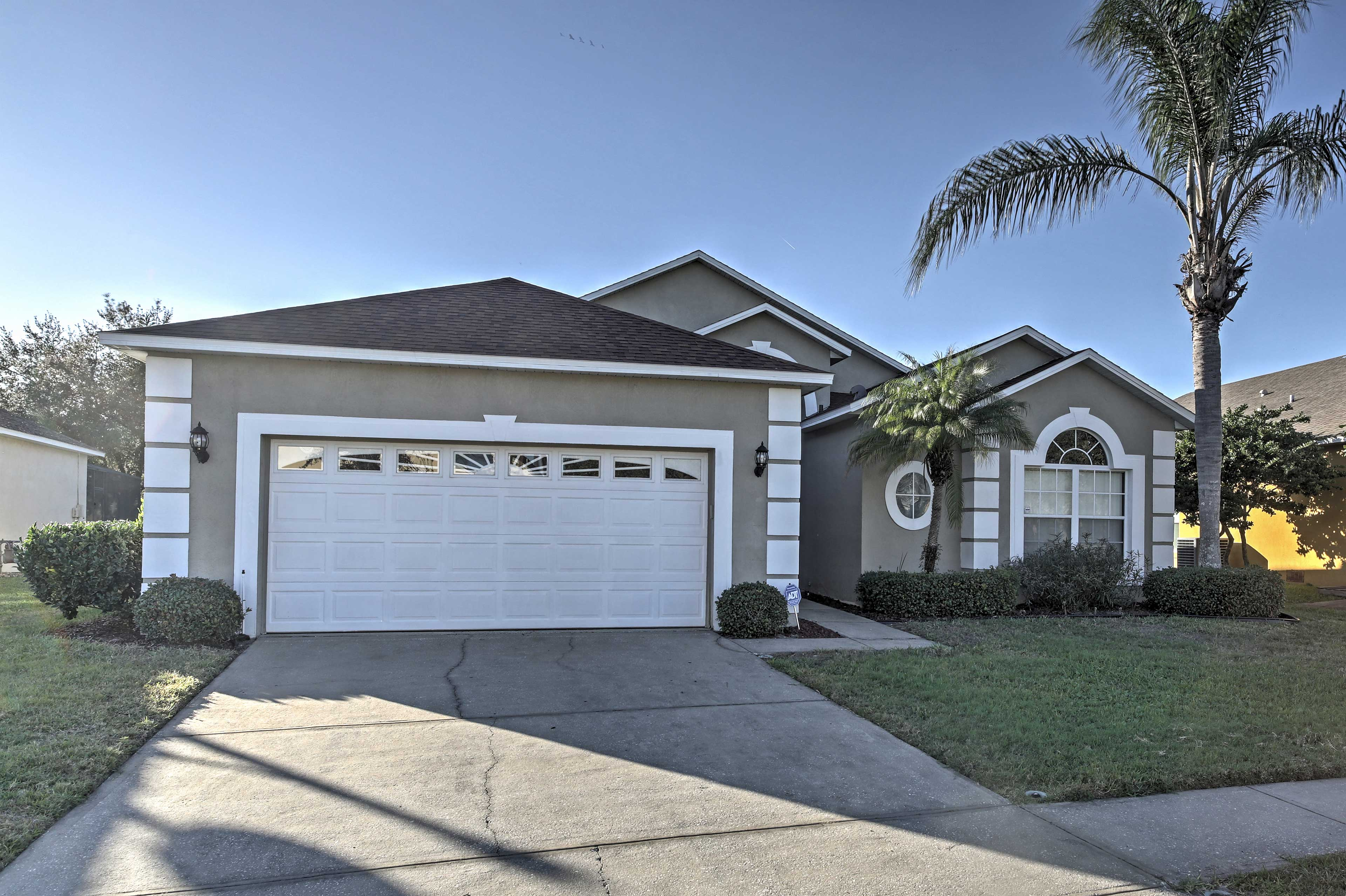 This 2,084 square foot home is ideal for friends, families, or couples.