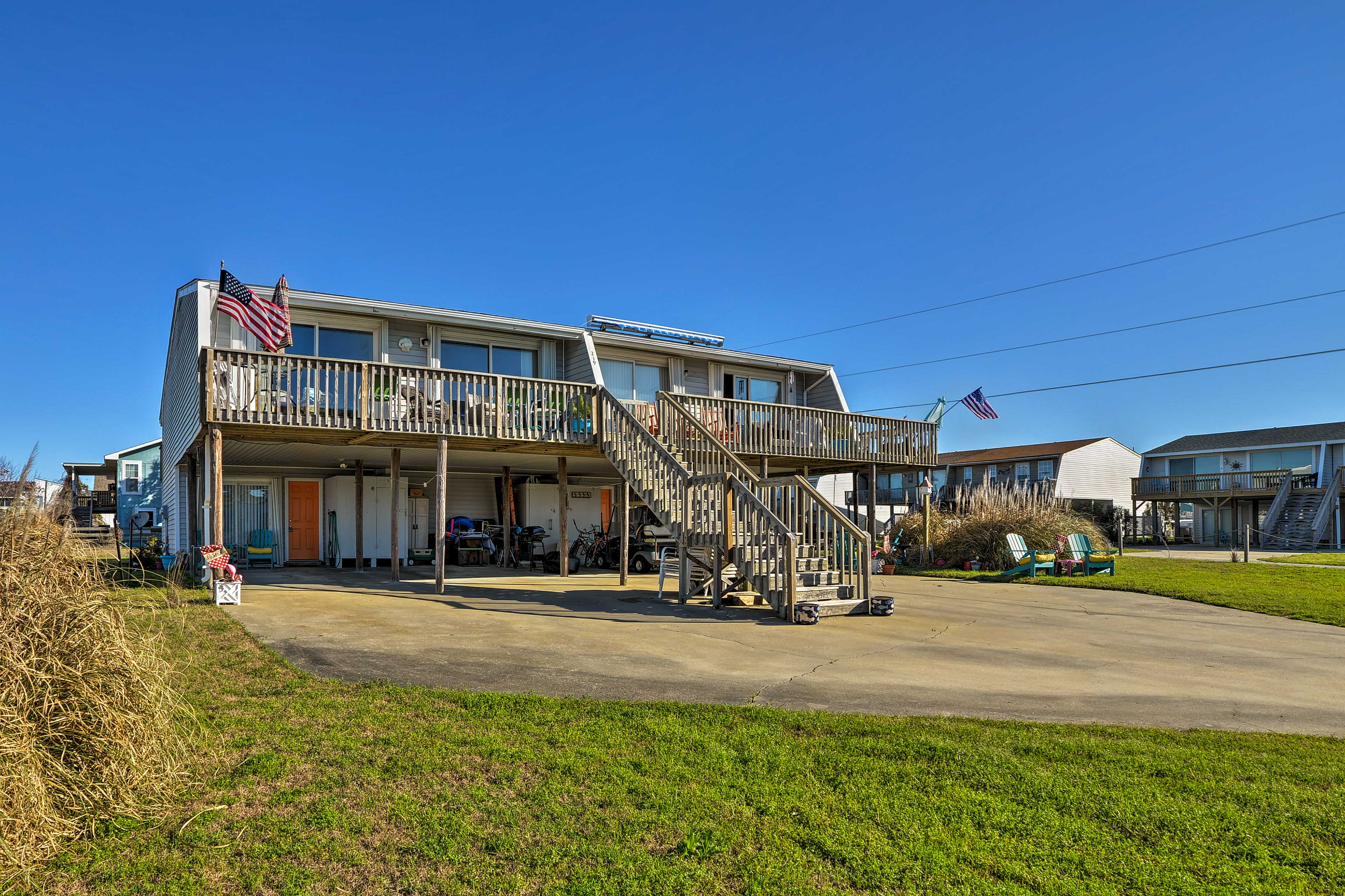 You'll enjoy a convenient location only minutes from the ocean!