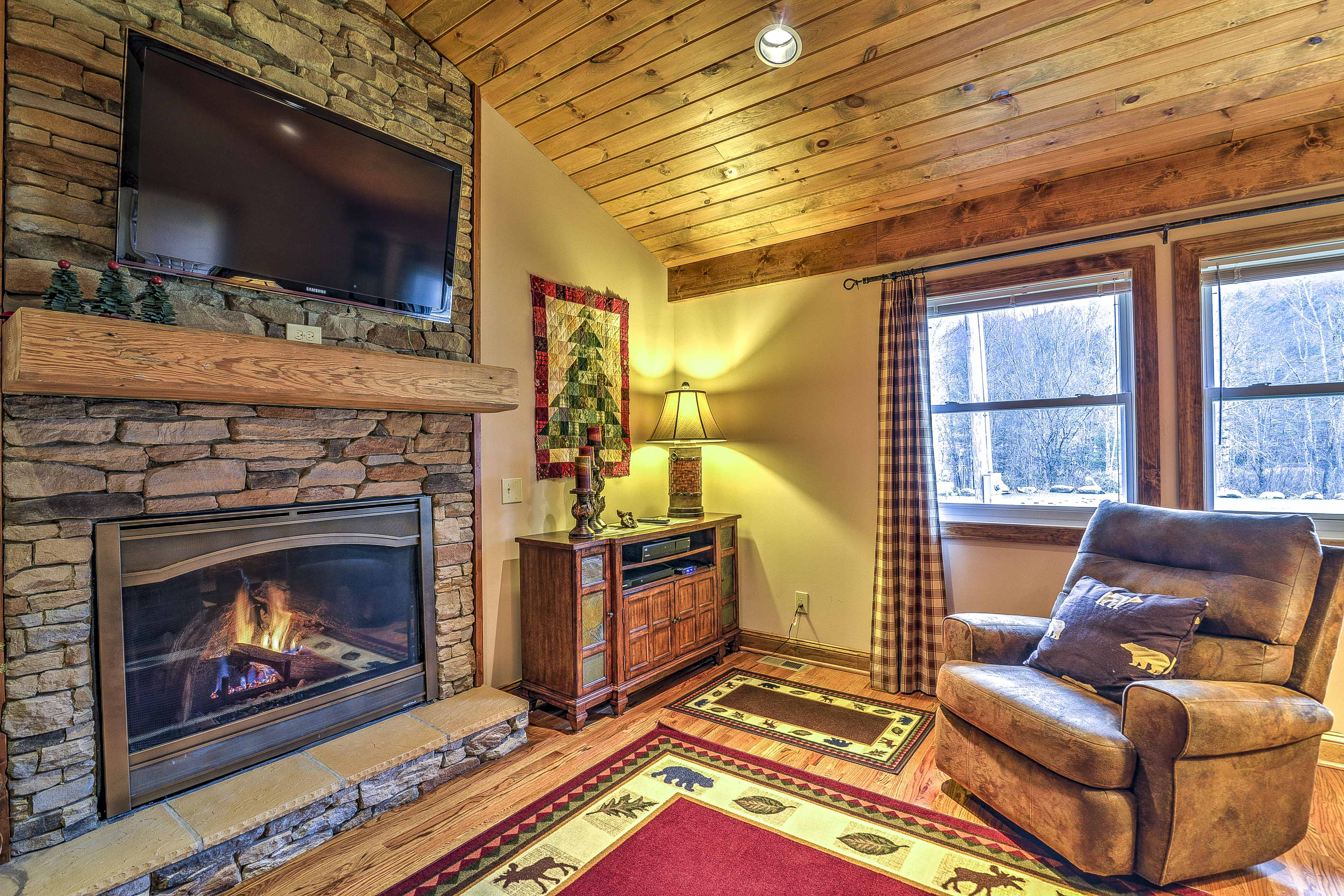 This home is ideally located in Banner Elk.
