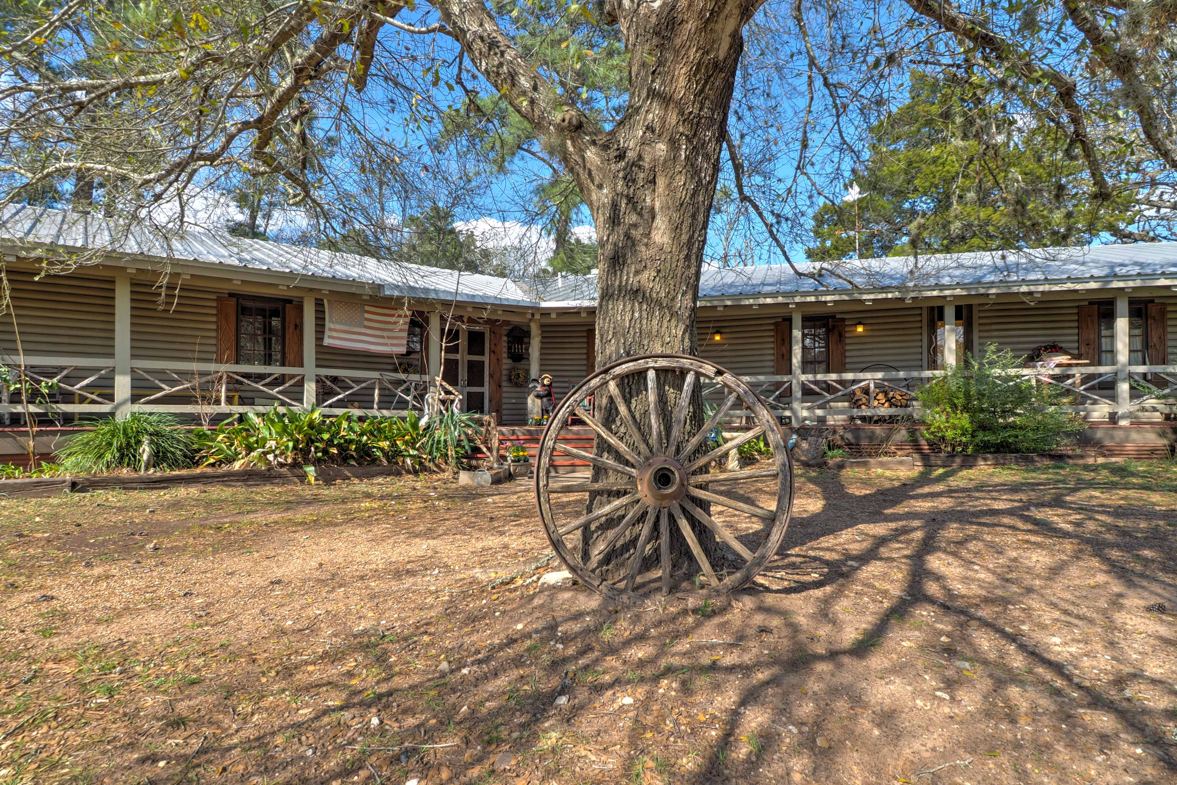 The Lodge is a place for retreats, workshops, and any other fellowship events..