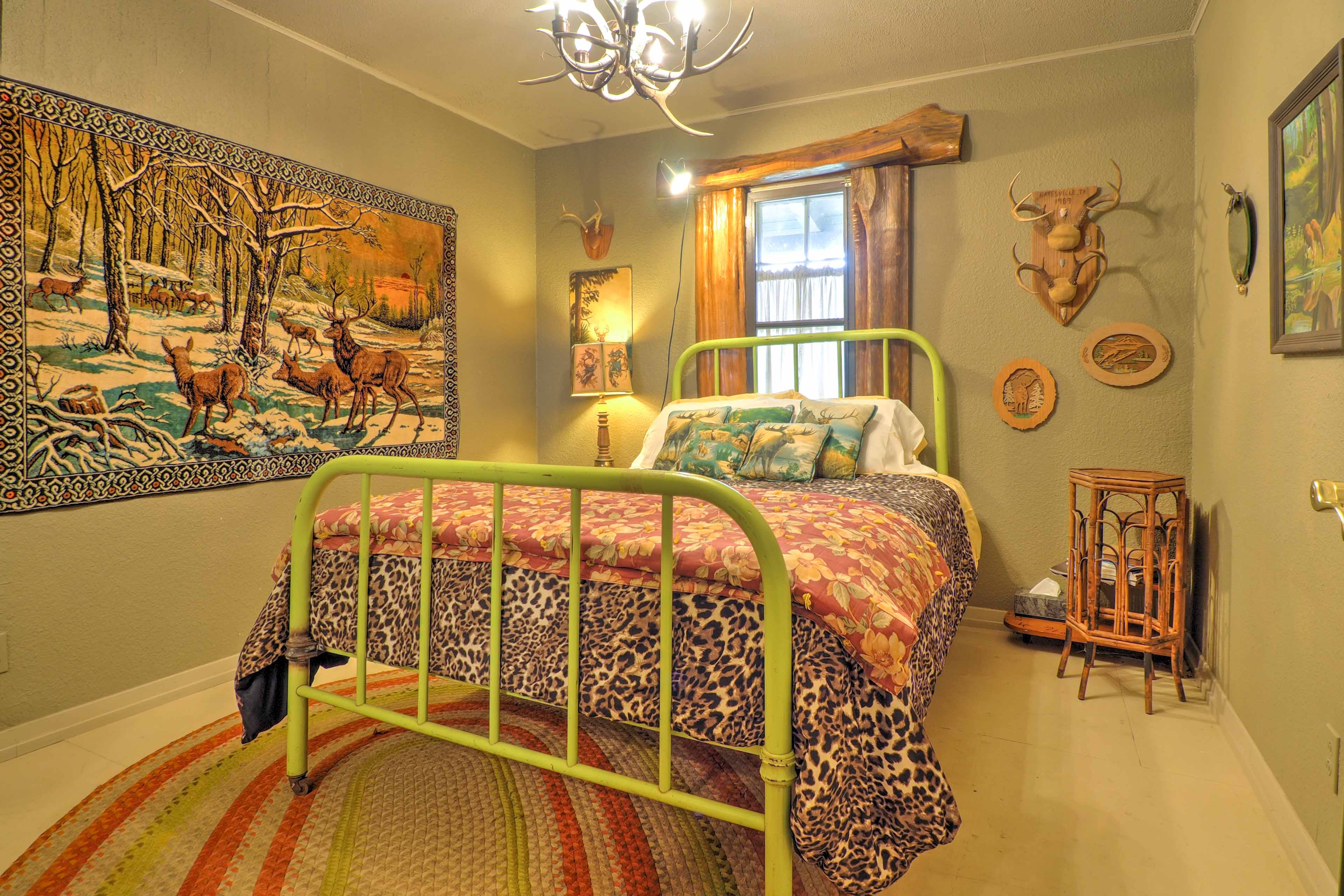 Make yourself at home in this bedroom.