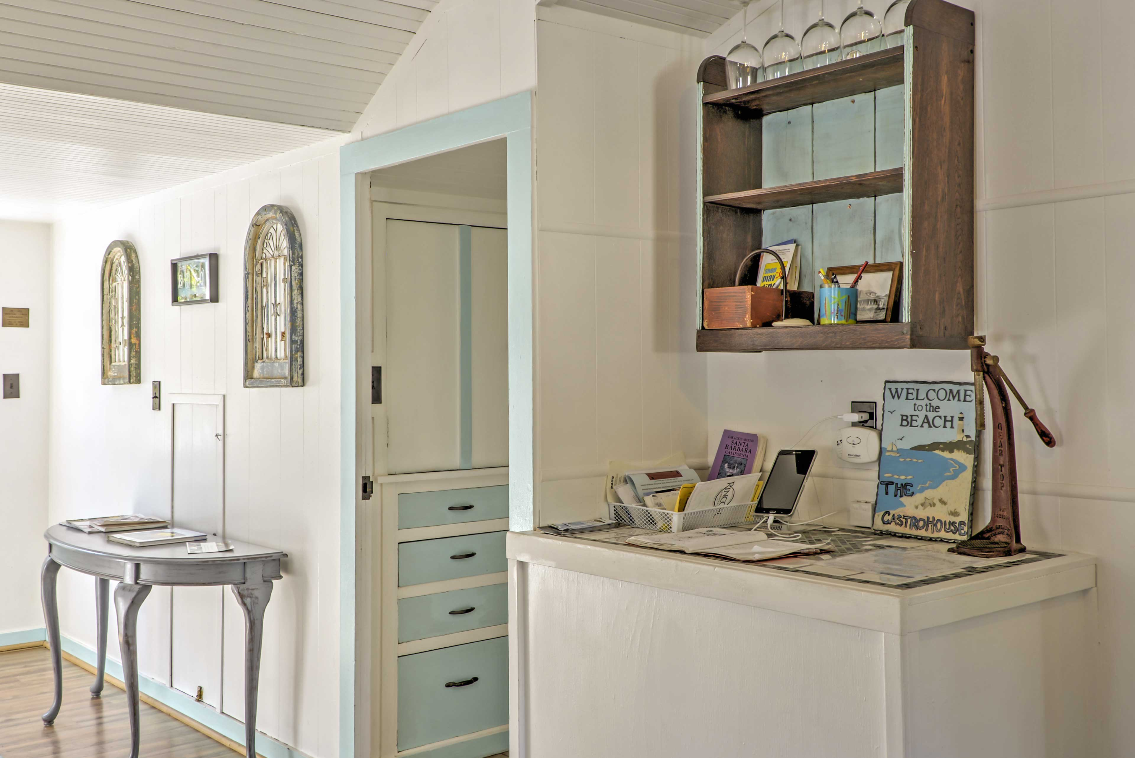 This home is brimming with shabby chic charm!