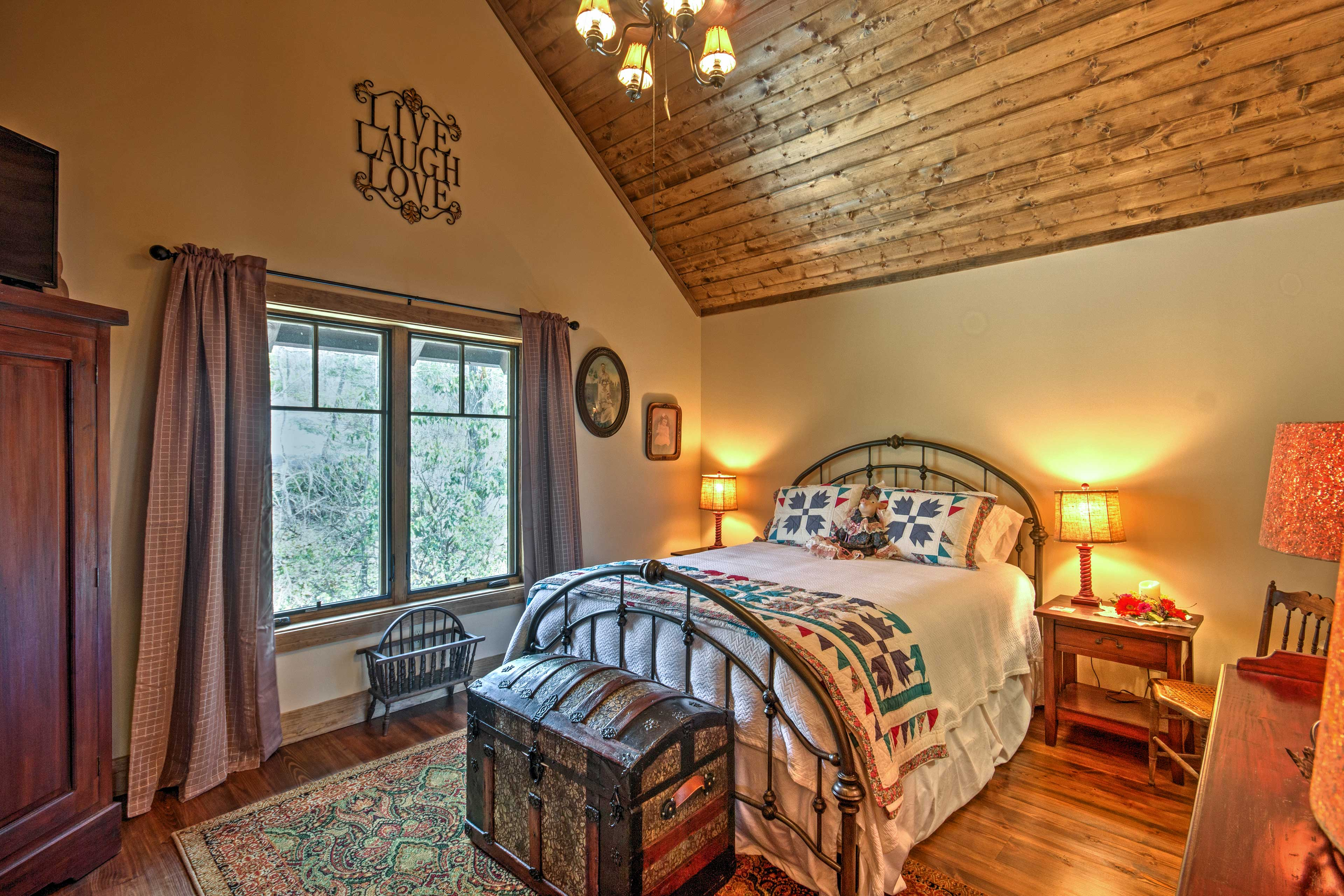 Dream of tomorrows adventures in this spacious bedroom.