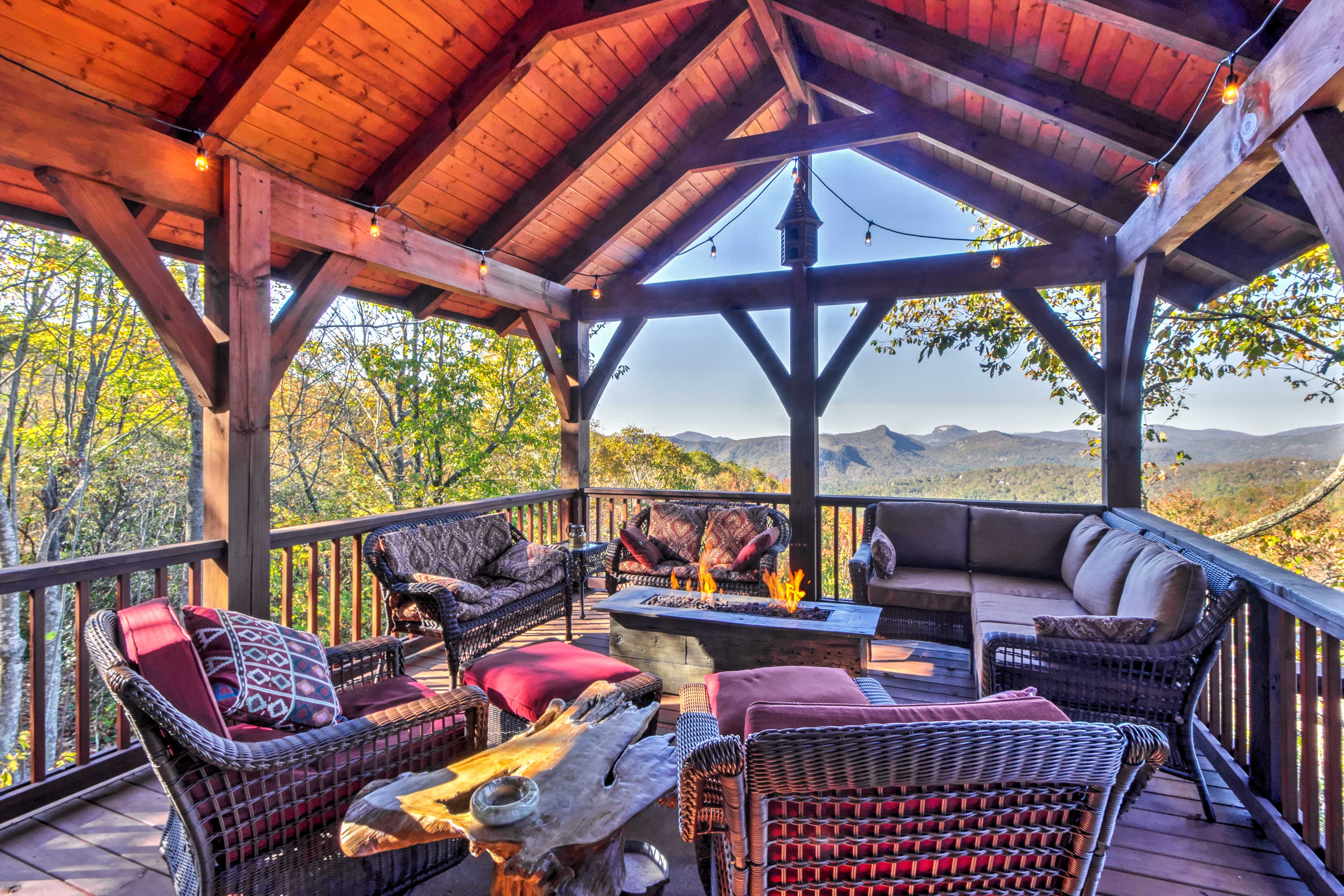End your days in this serene space with majestic views.