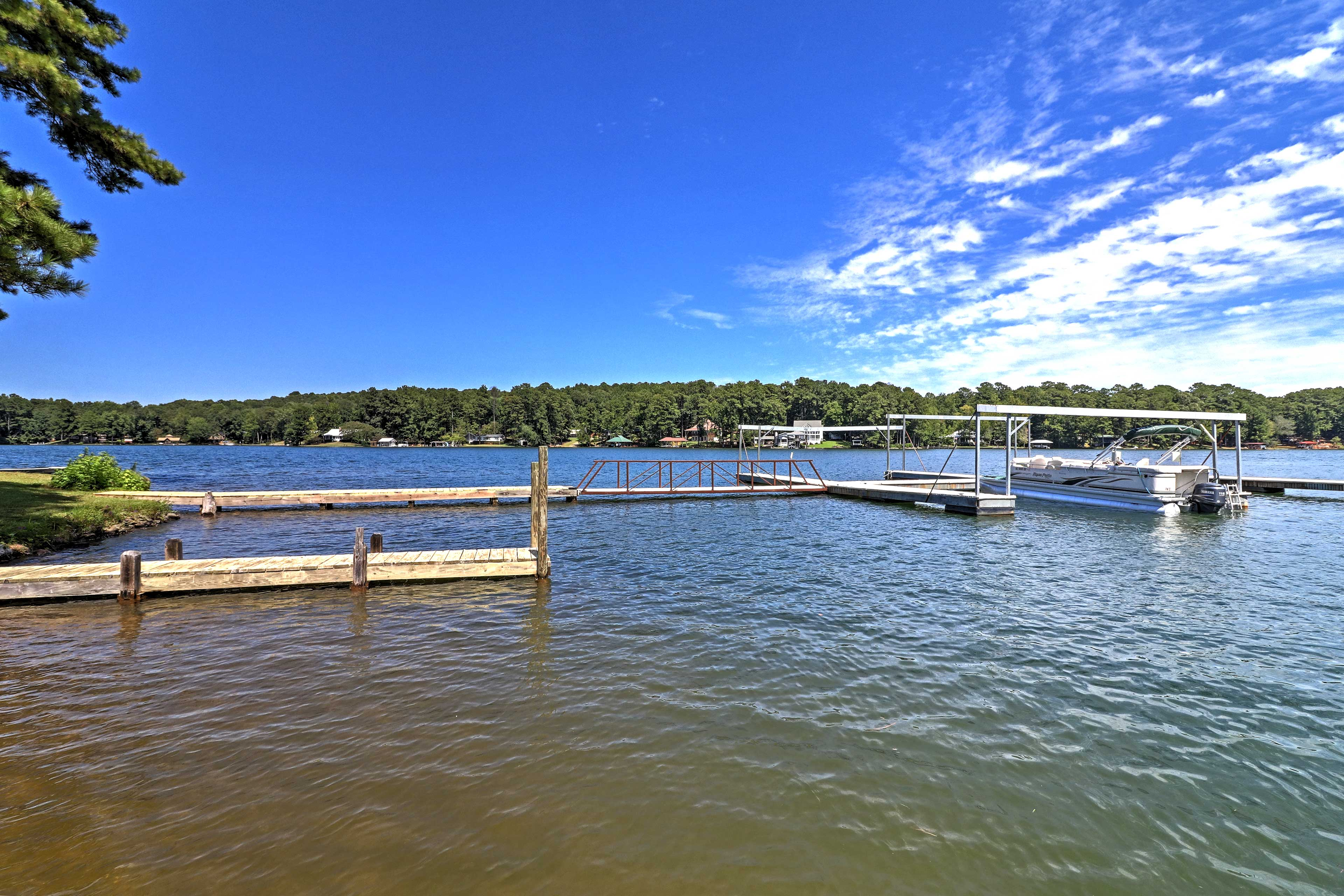 You'll love the lakefront location of this beautiful home.