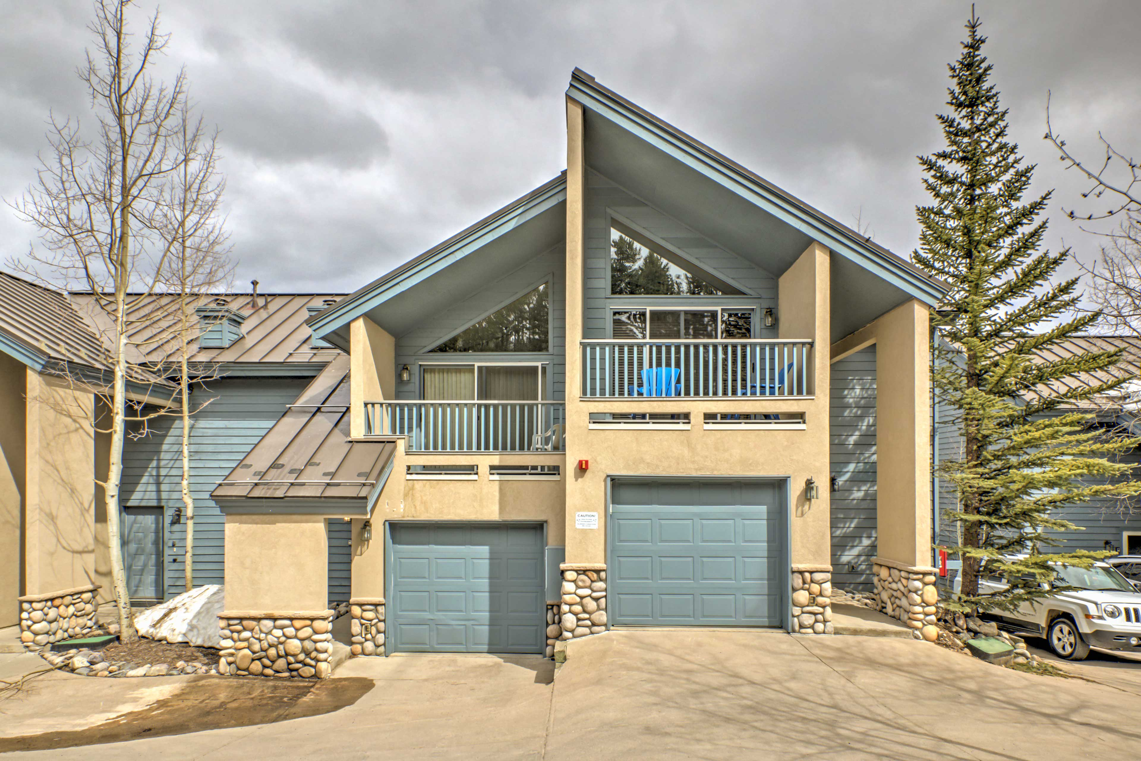 Just steps Main Street, this Breckenridge townhome is perfect for your holiday!