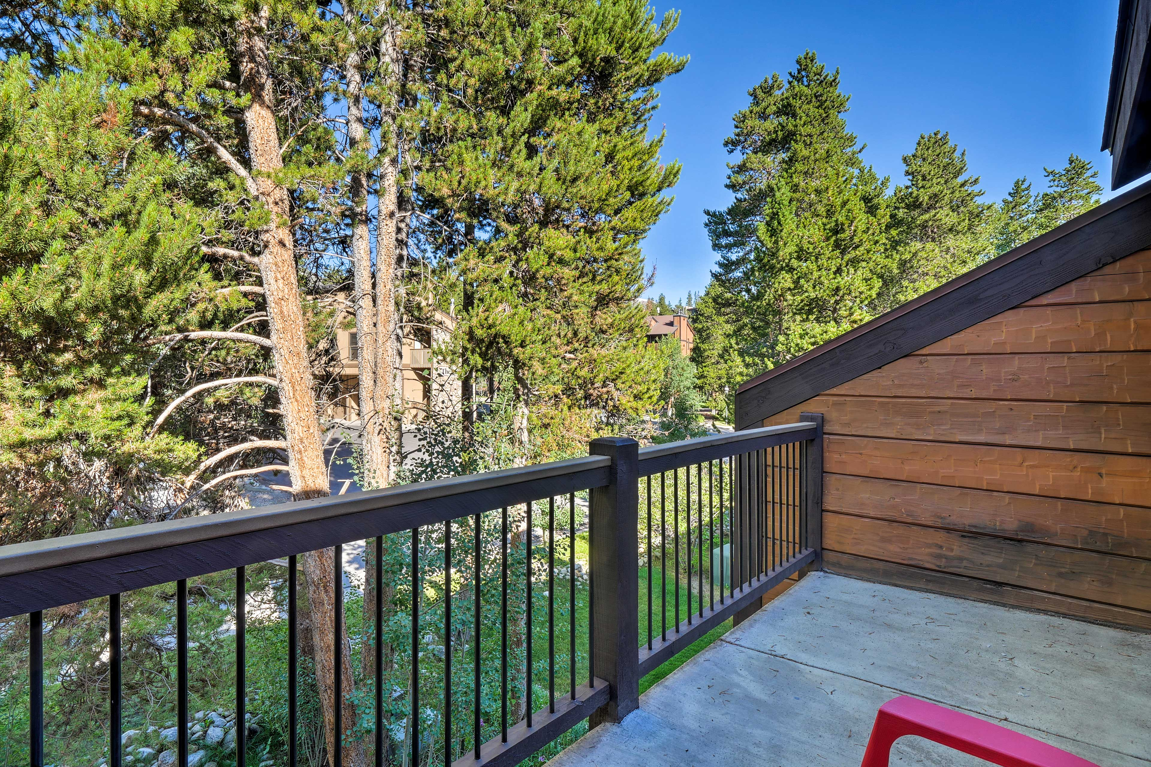 Never miss a day on the trails when you stay at this vacation rental townhome!