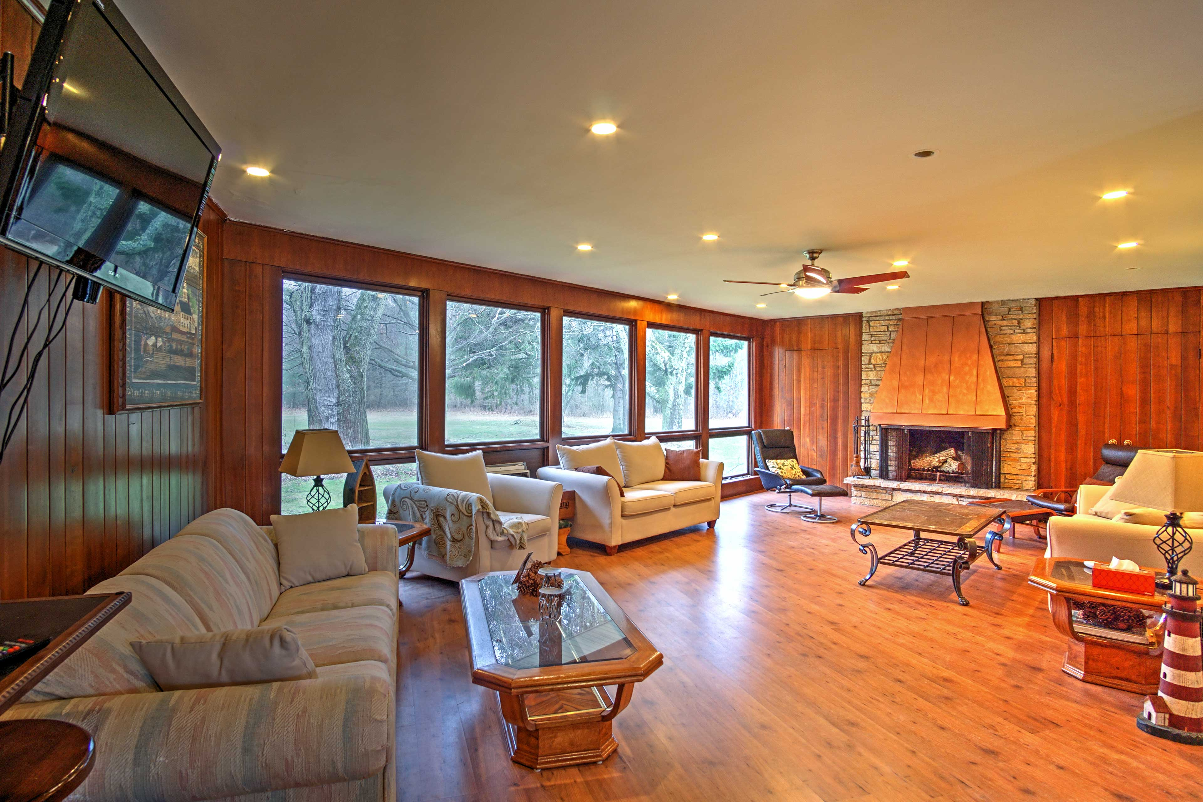 The home boasts 3,600 square feet of comfortable living space.