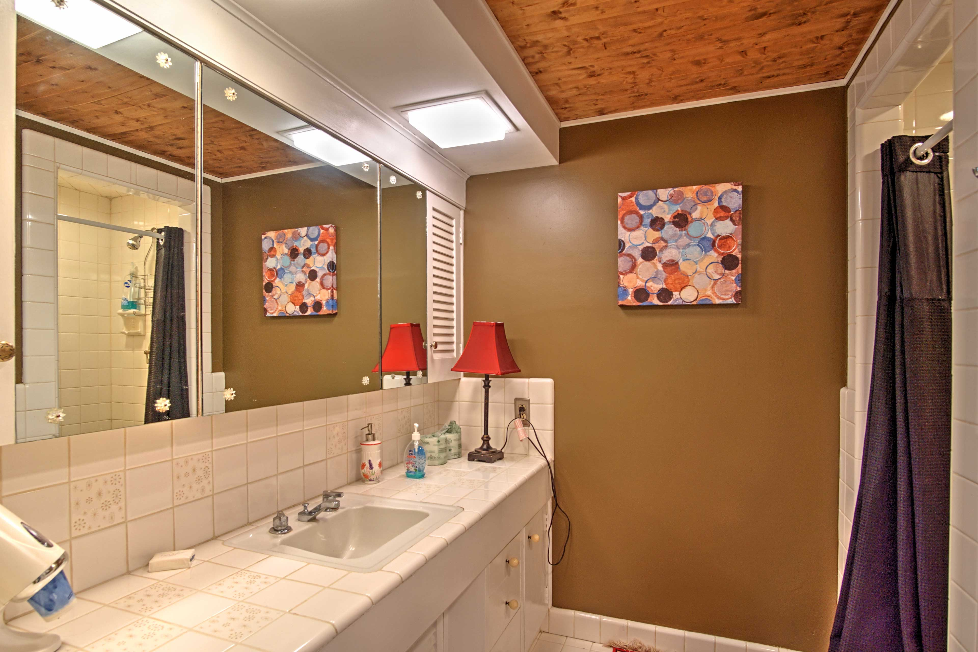There are 3.5 bathrooms in this home.