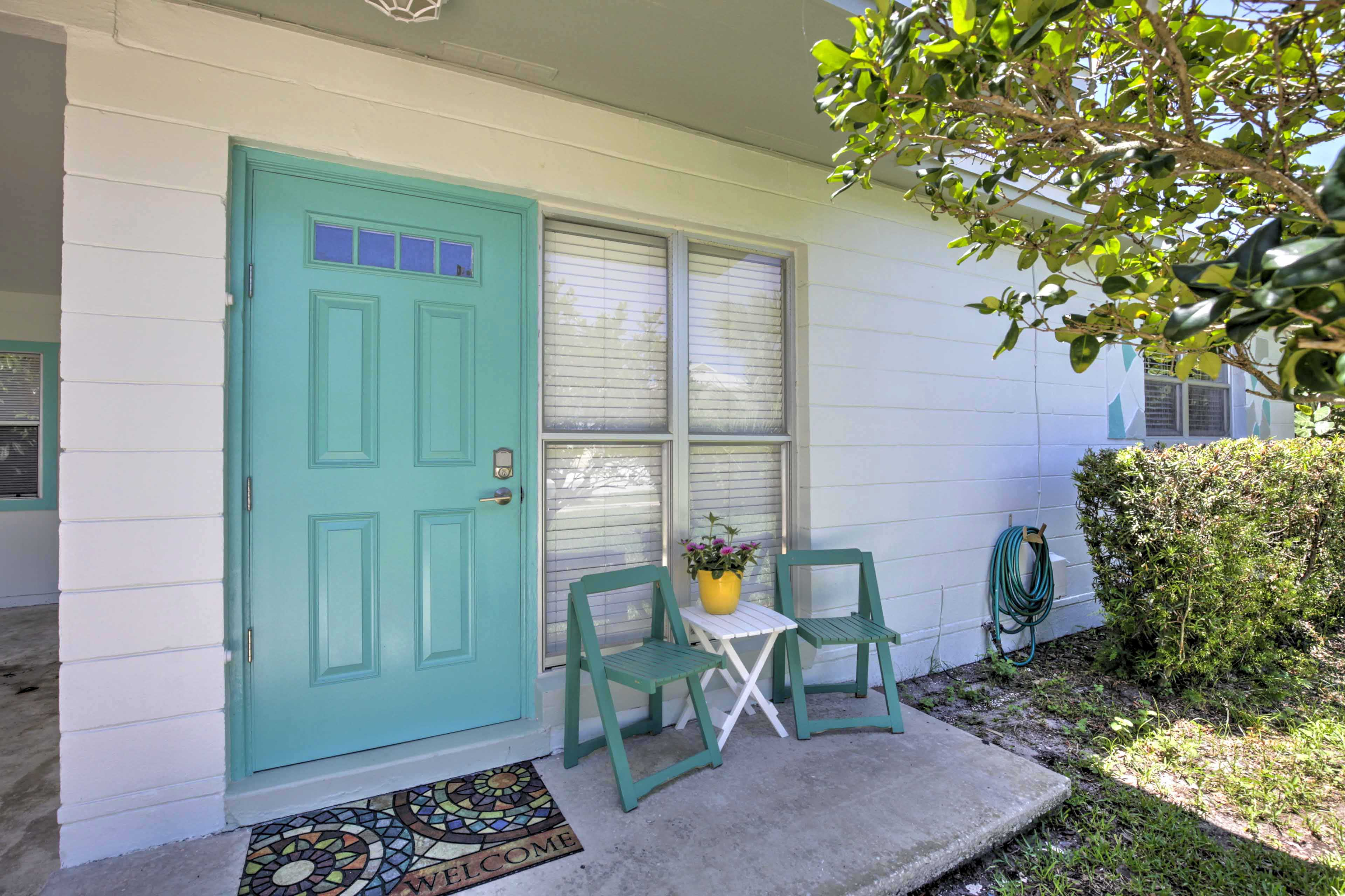 This adorable house is the perfect home base for your New Smyrna beach retreat!