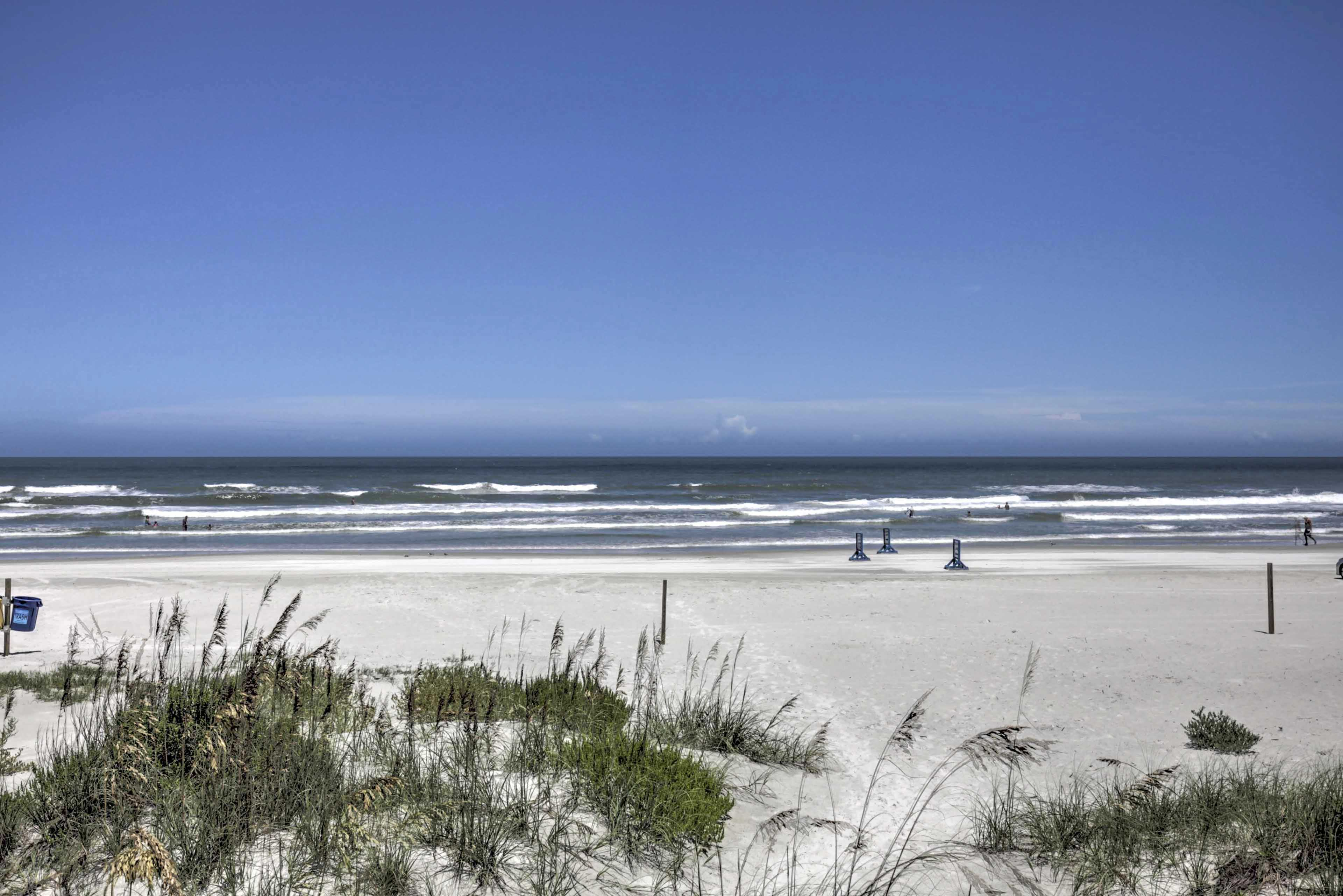 You'll be minutes from the beach, shops, and restaurants!