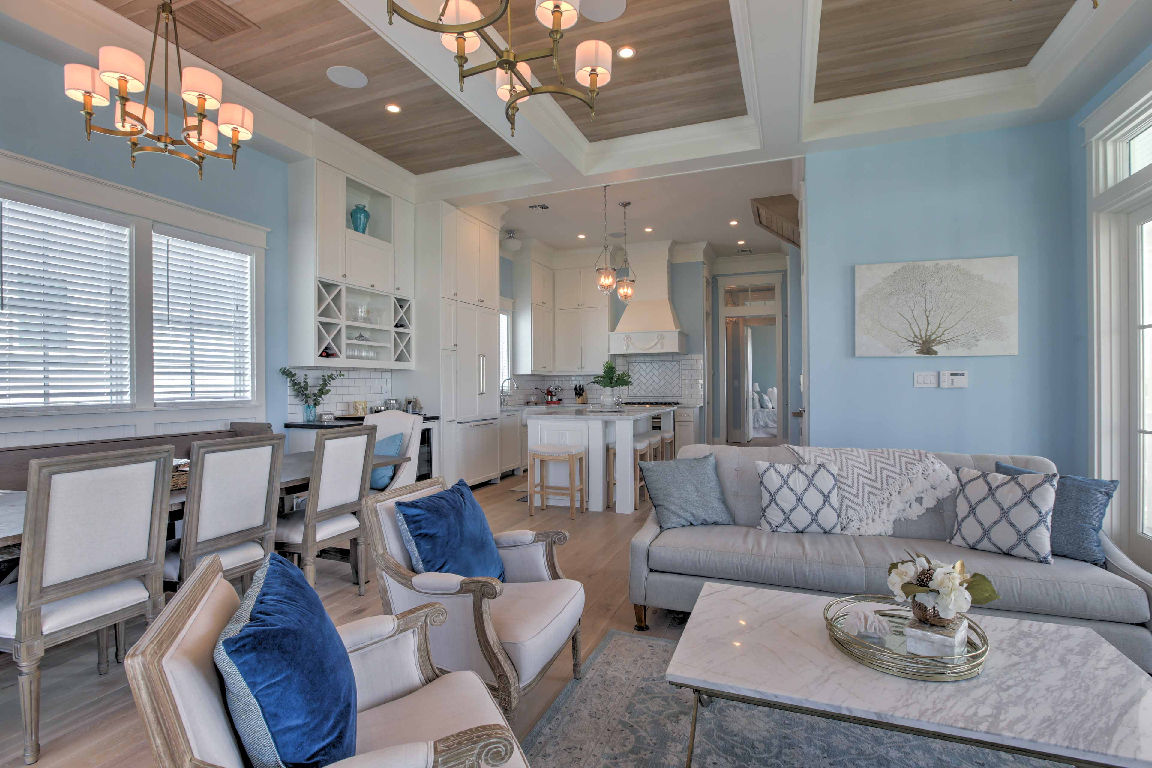The open floor plan makes the spacious home feel even larger than it is!
