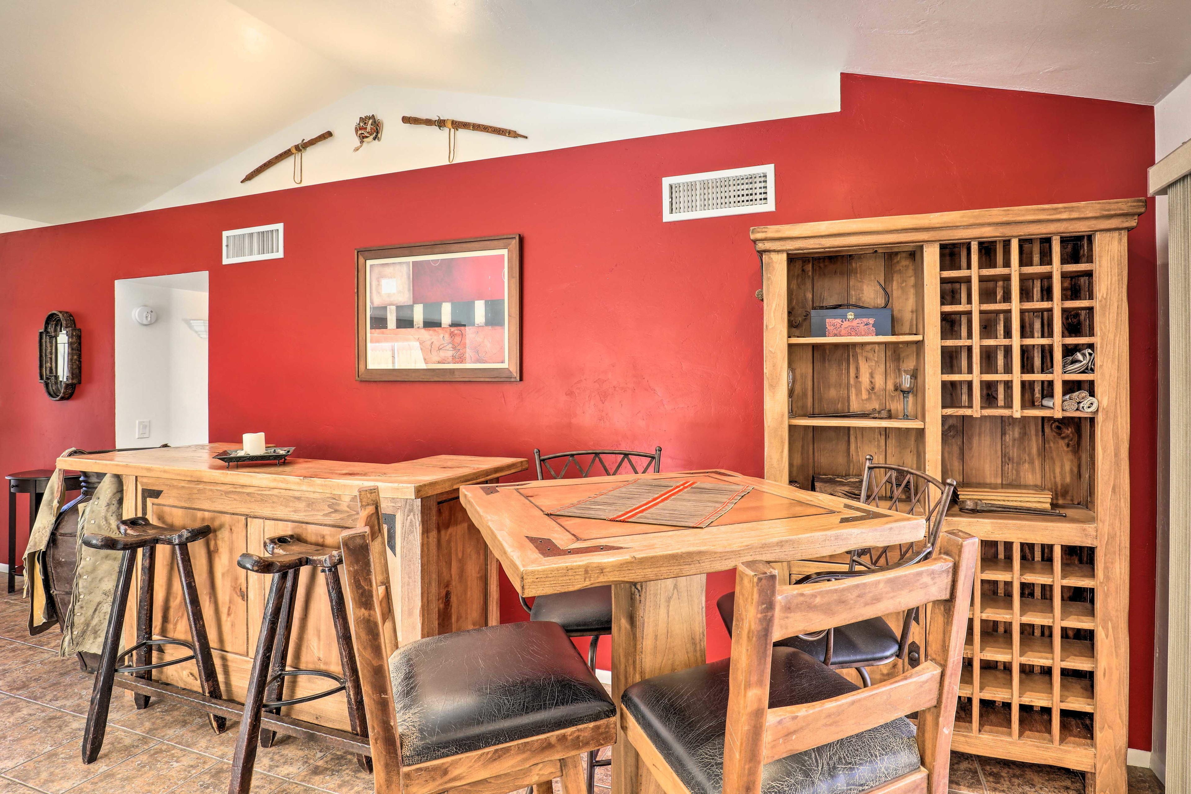 Living Room | Wine Rack