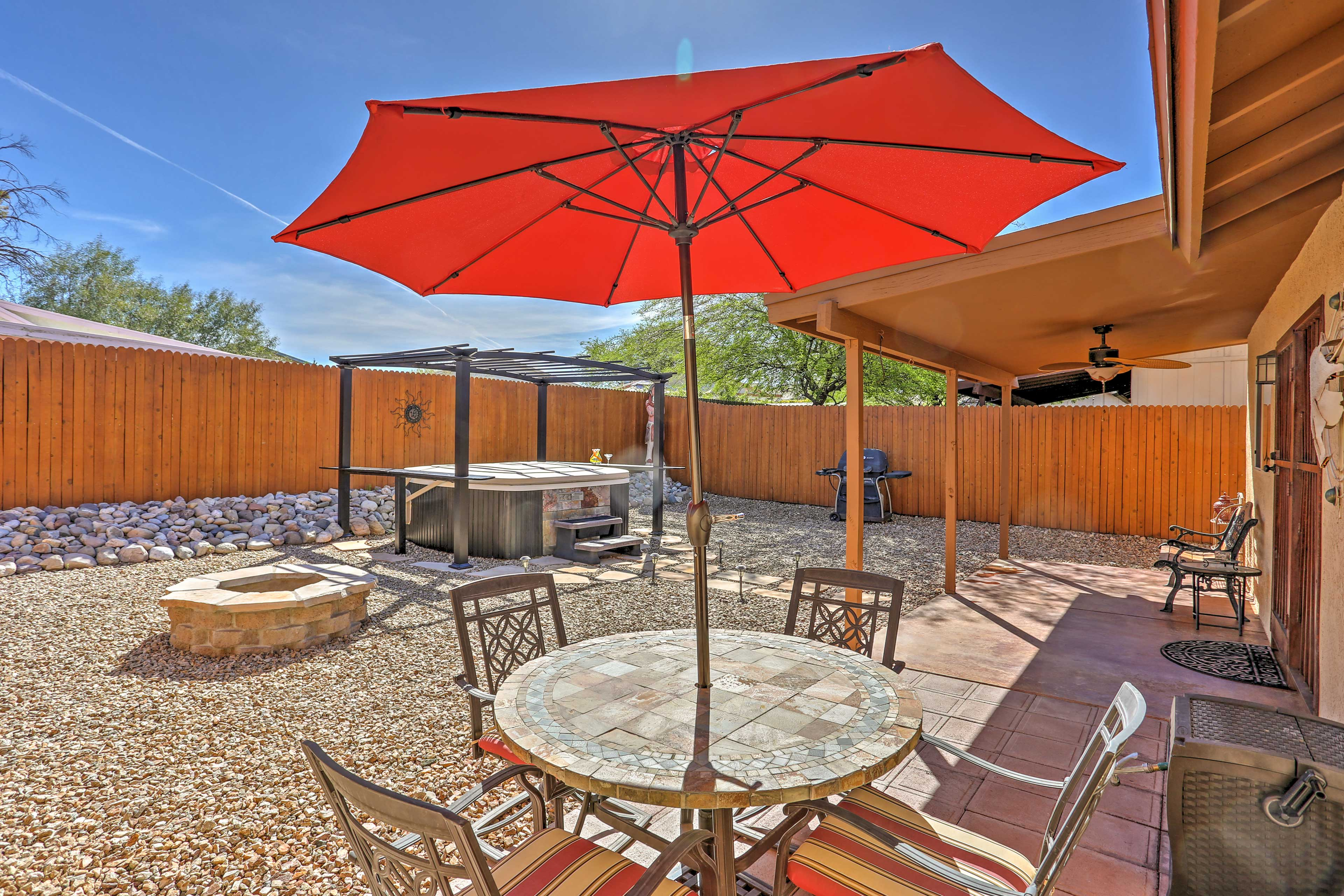 Tucson Vacation Rental Home | 3BD | 2BA | 1,220 Sq Ft