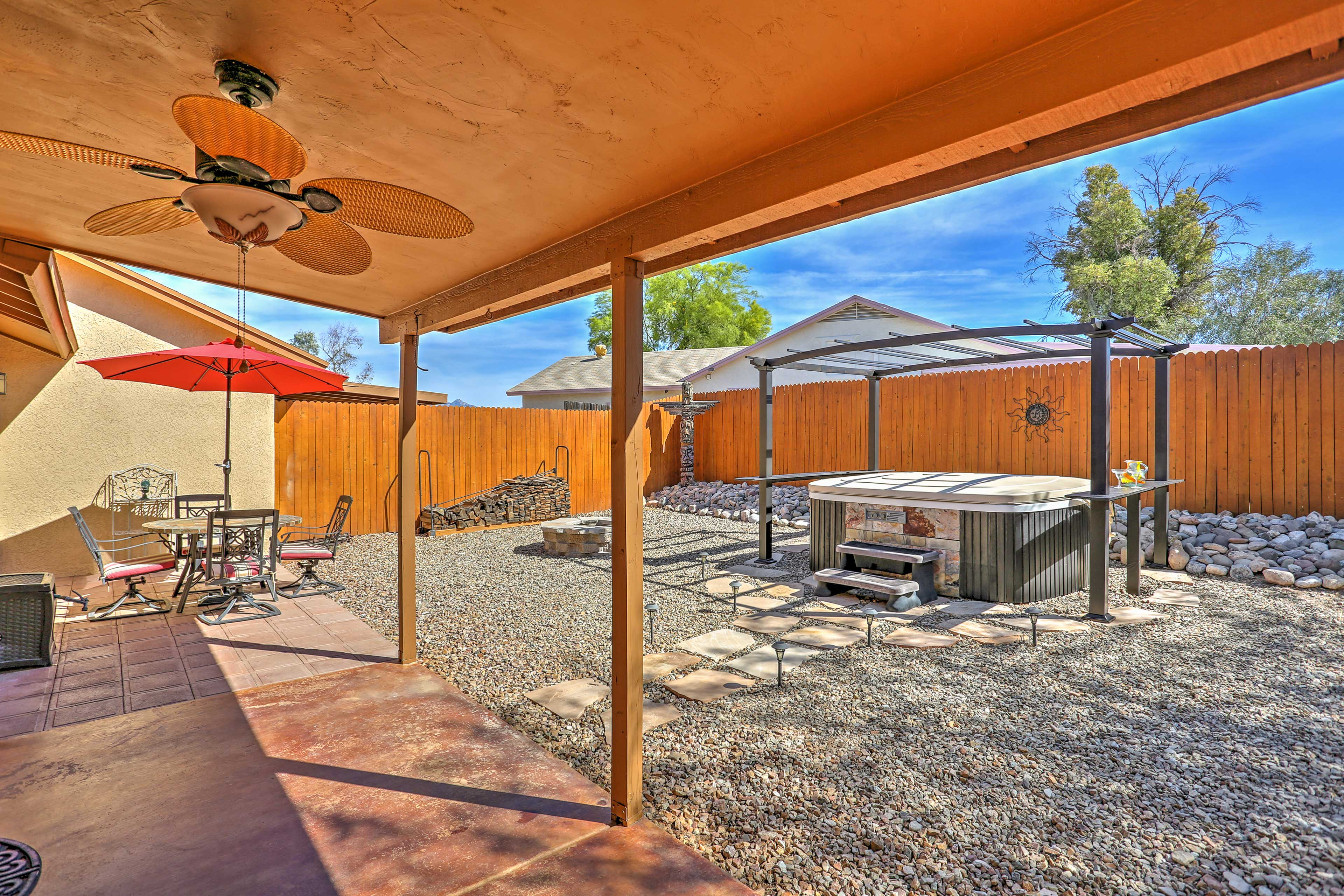 Private Covered Patio | **Hot Tub No Longer Available**