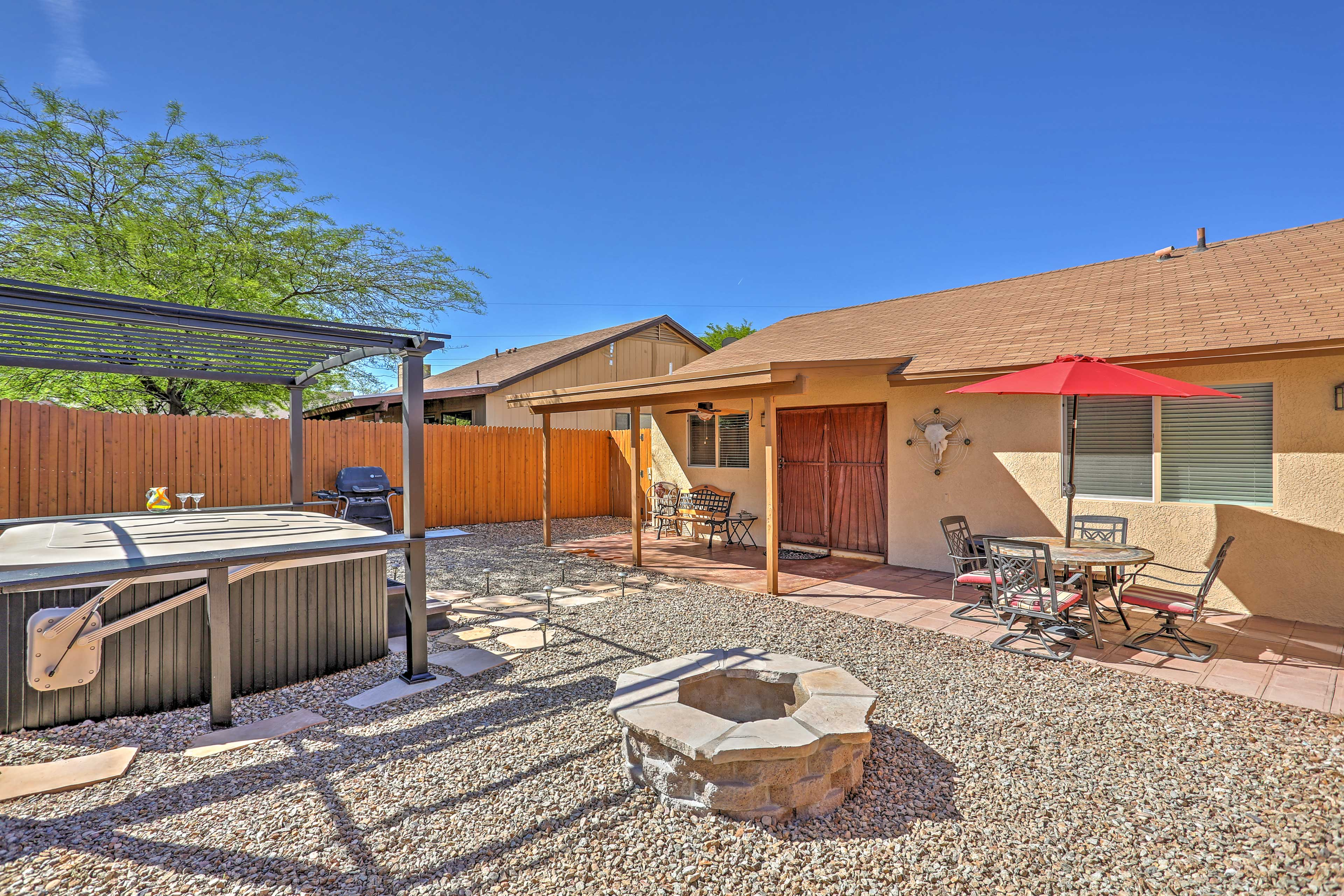 Private Backyard | Fire Pit | **Hot Tub No Longer Available**