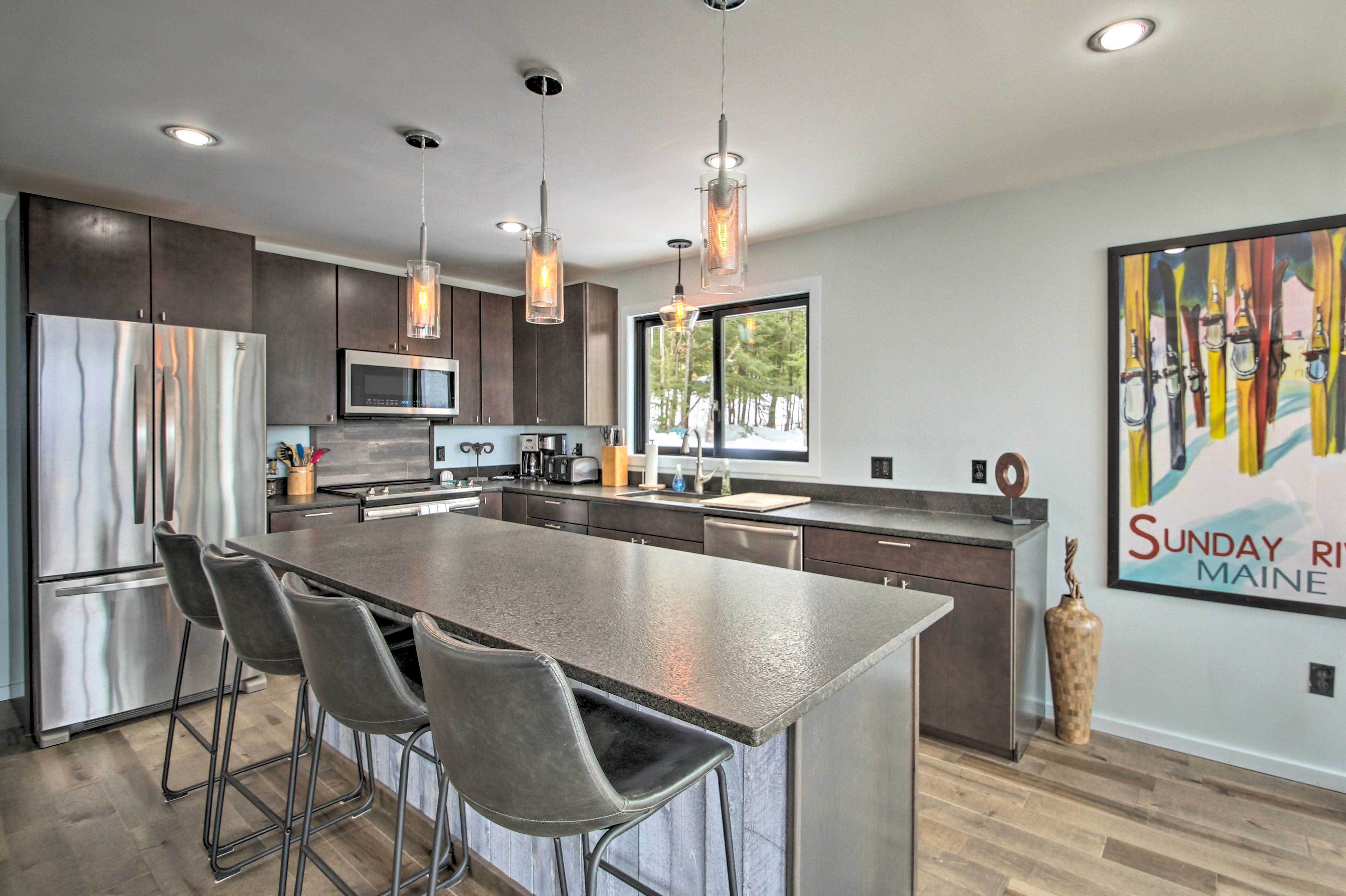 This home is ideal for groups of up to 10.
