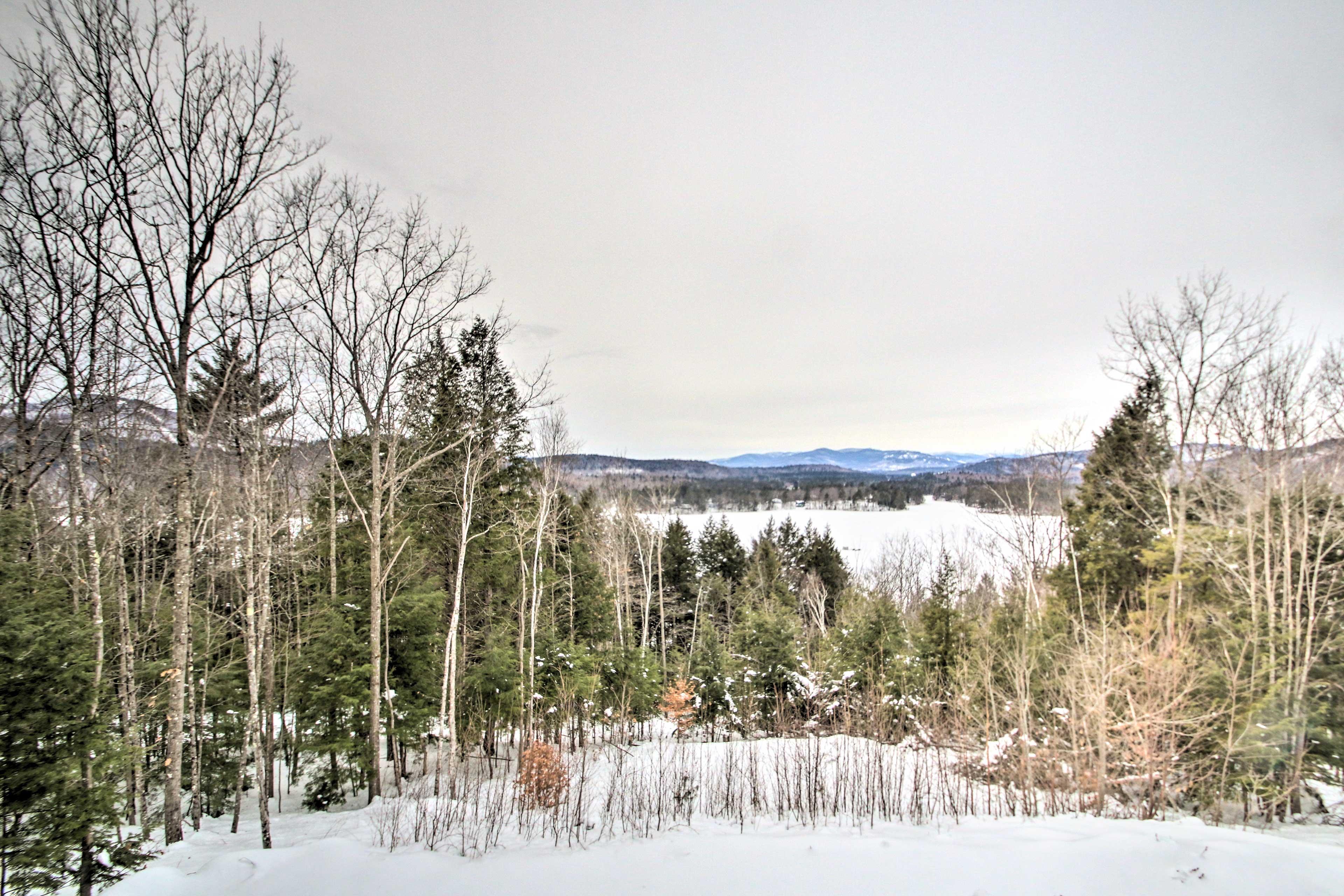 This is a true winter wonderland!