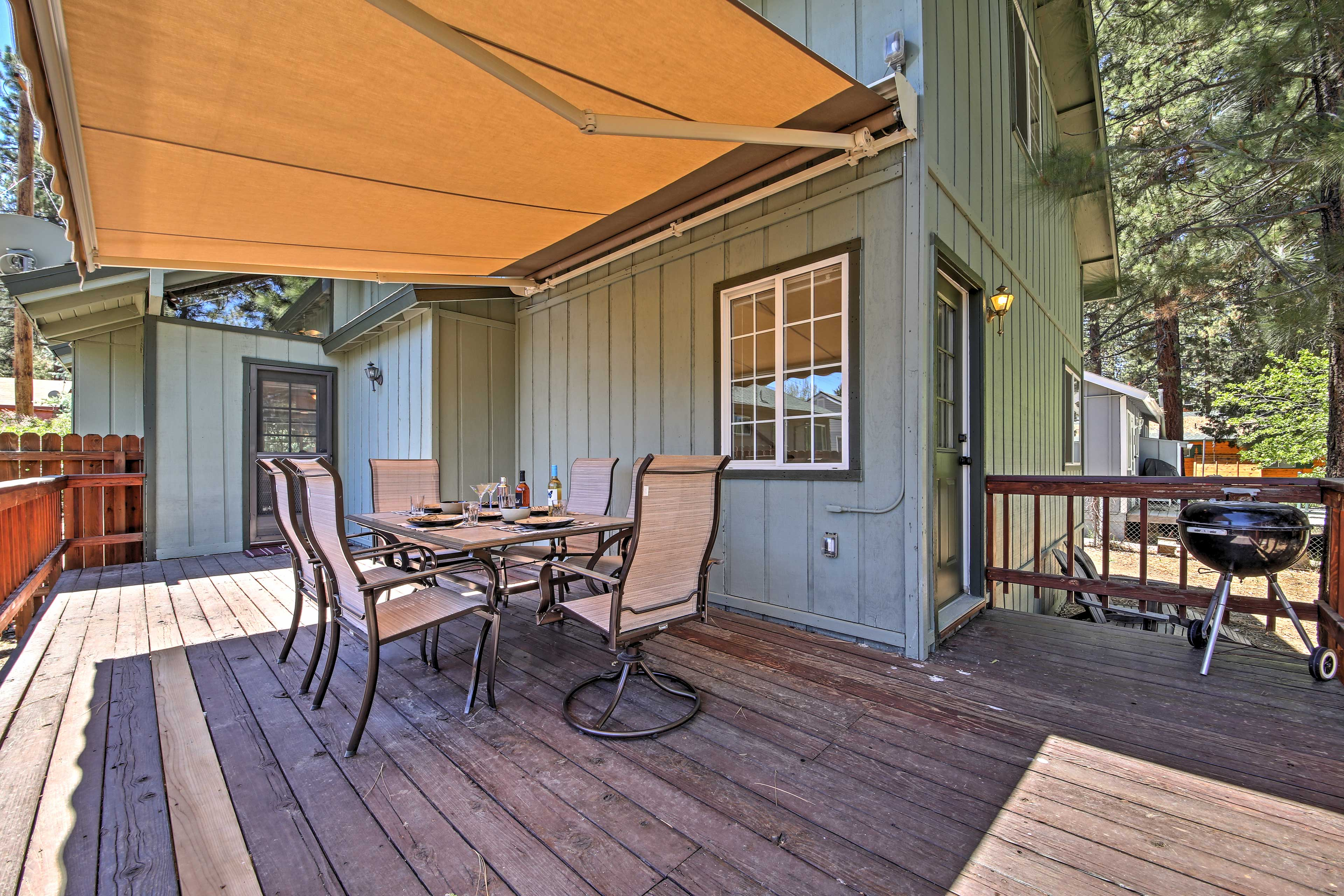 Enjoy the ultimate outdoor experience when you stay at this vacation rental!