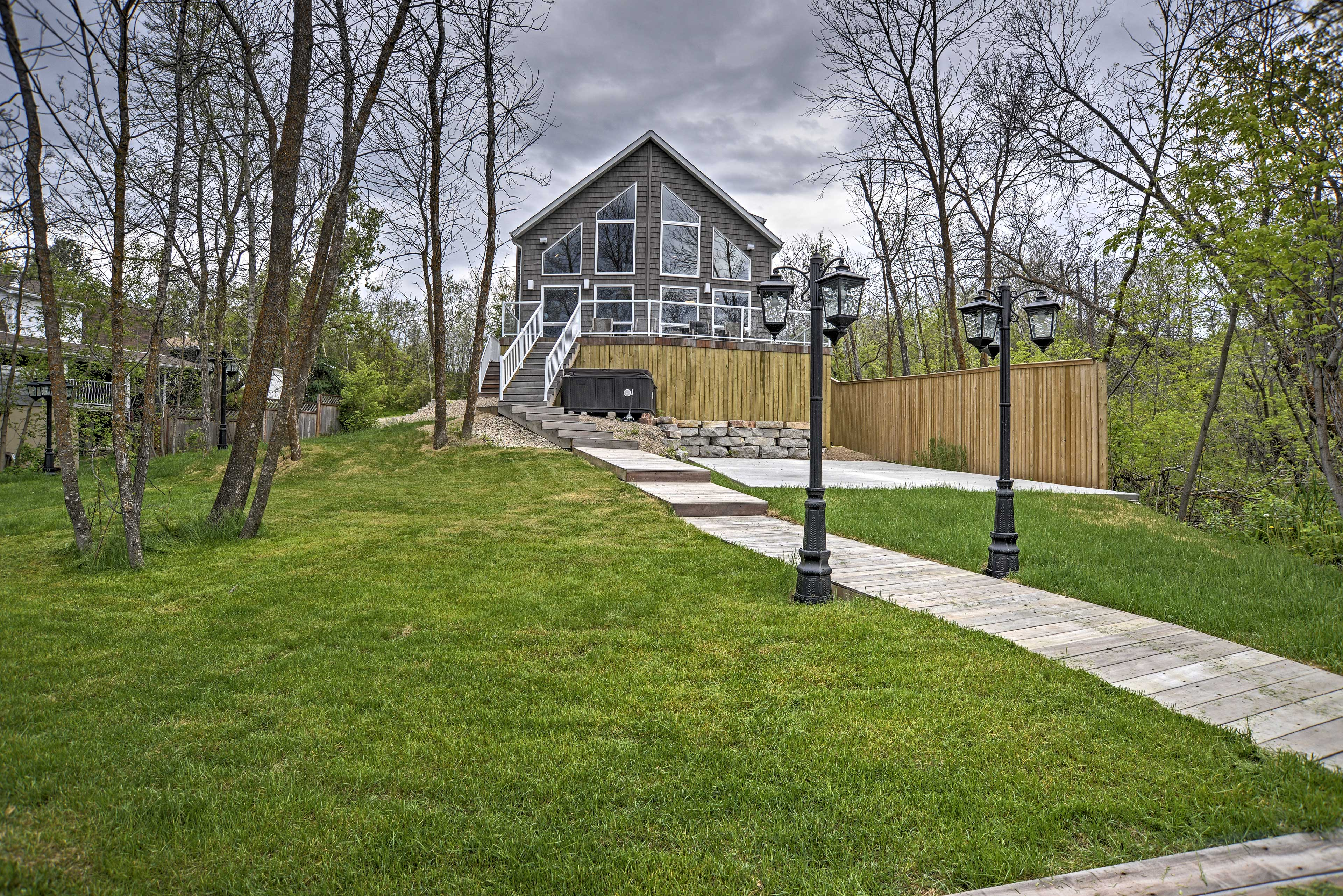 This newly built vacation rental cottage is the perfect spot for your vacation.