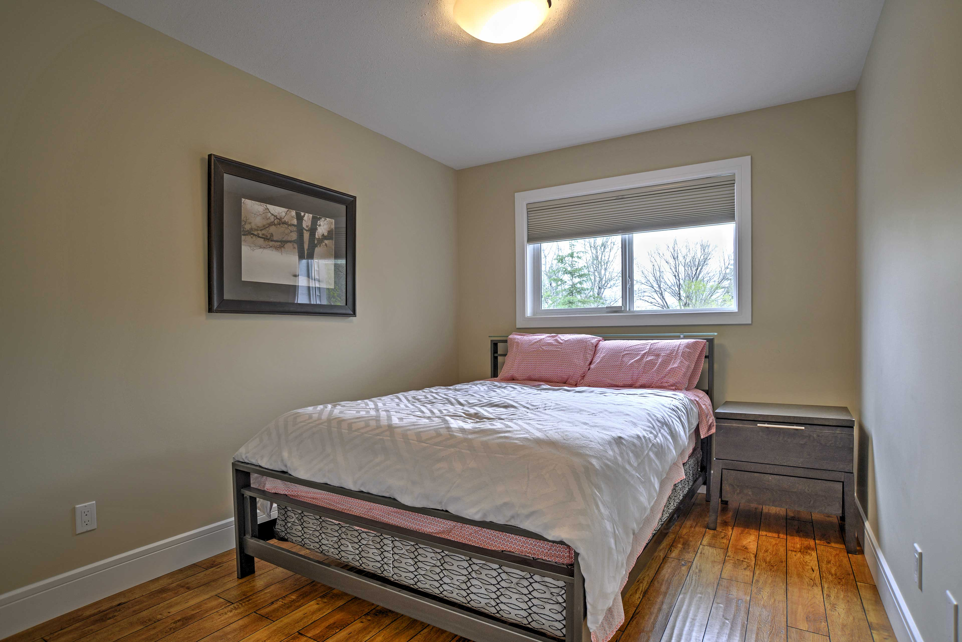 The property has plenty of bed space.