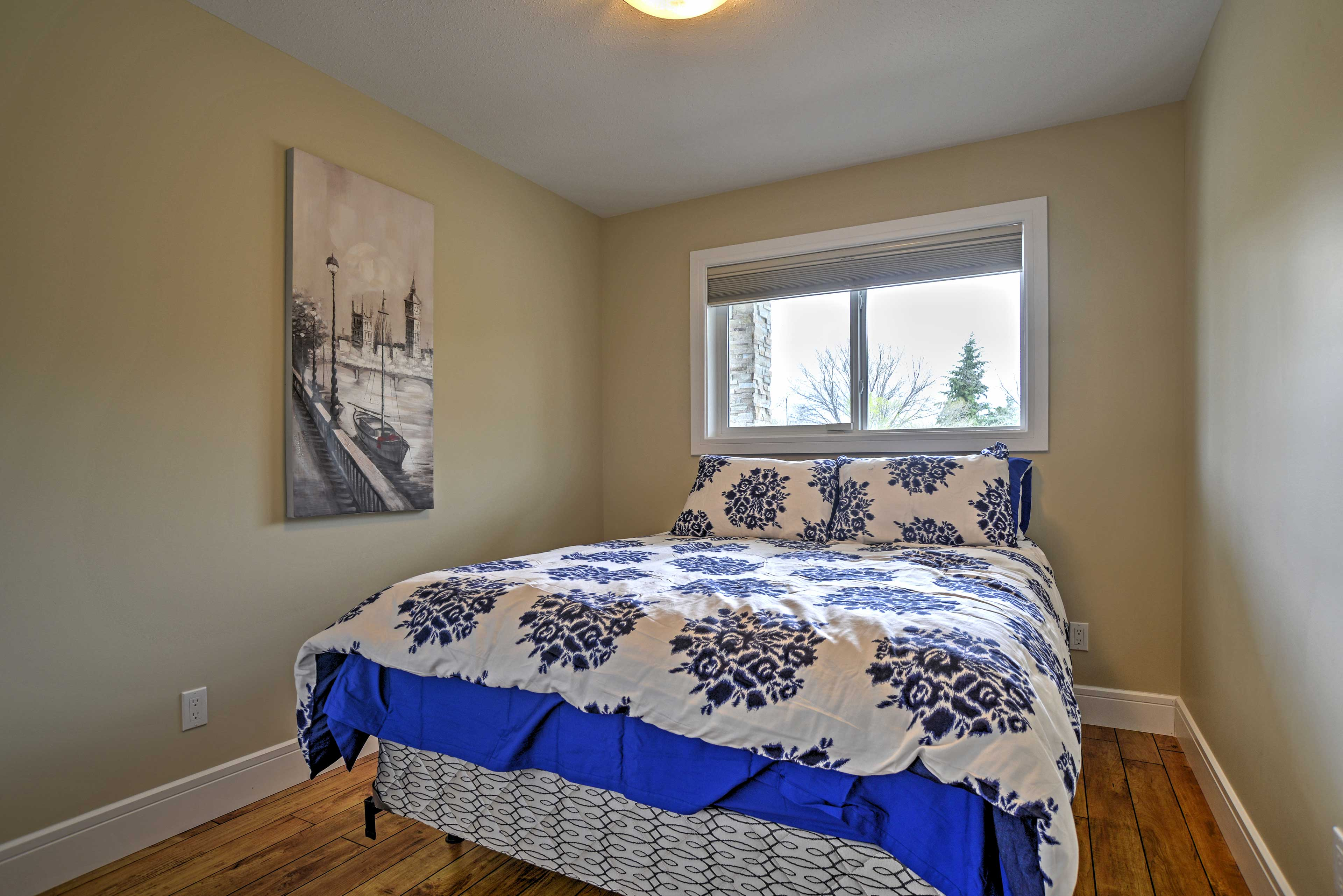 Almost all bedrooms feature a cozy queen-sized bed.