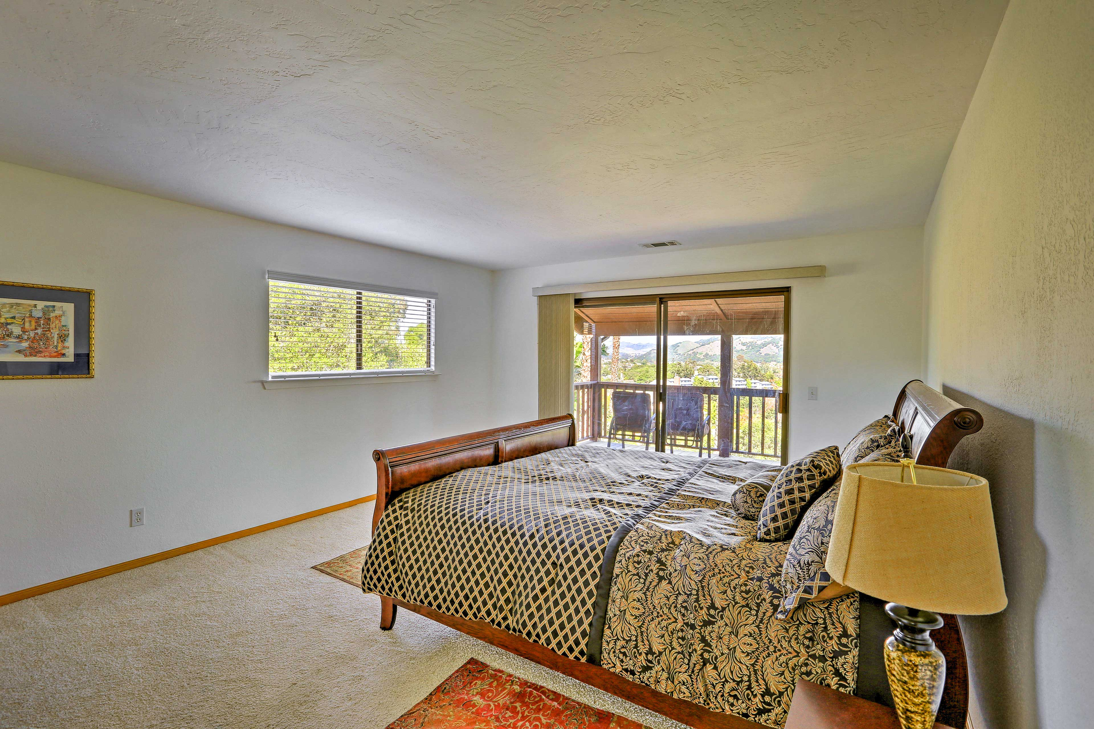 Sleep will come easy in the well-appointed Master Bedroom.