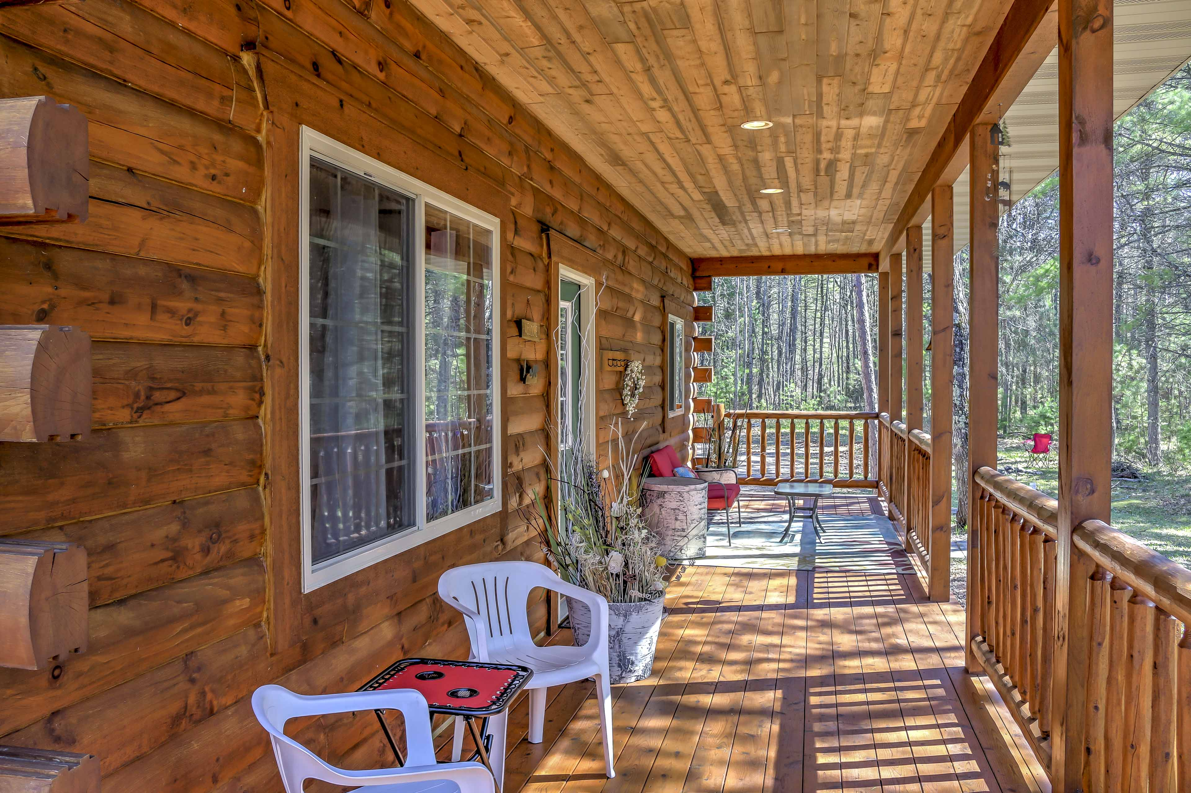 You'll love spending afternoons on the front porch!