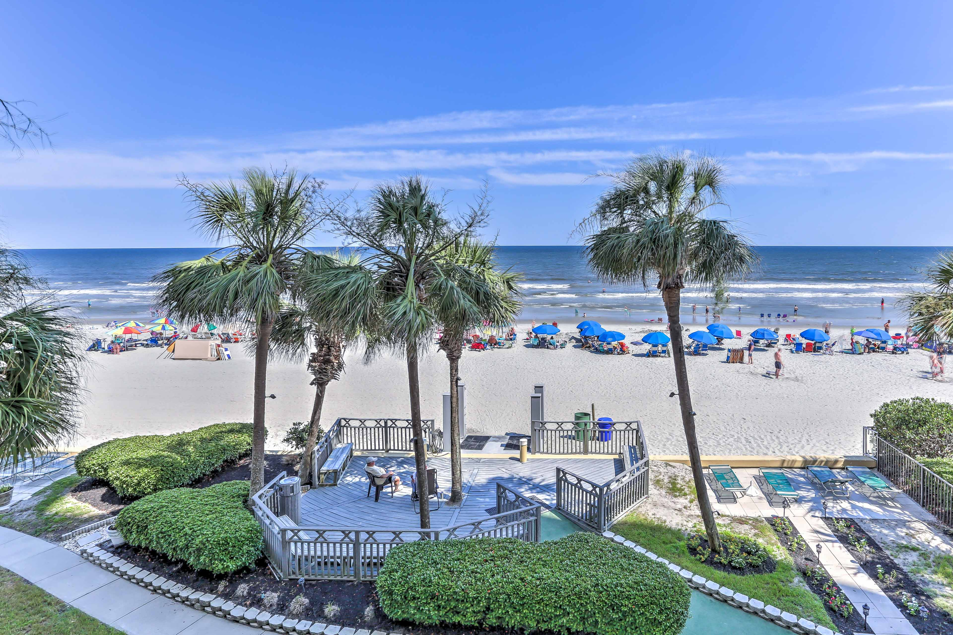 The white sand beaches await your trip!