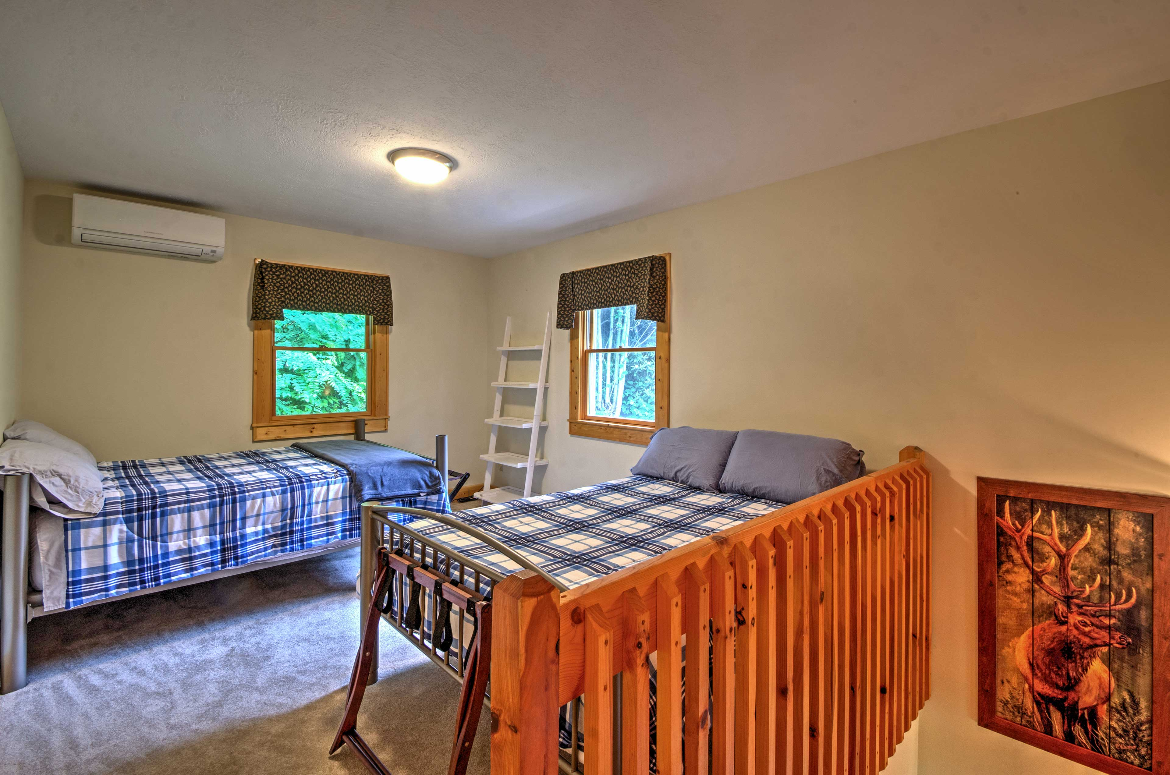 The loft features 2 full size beds! (Updated photo to come soon!)