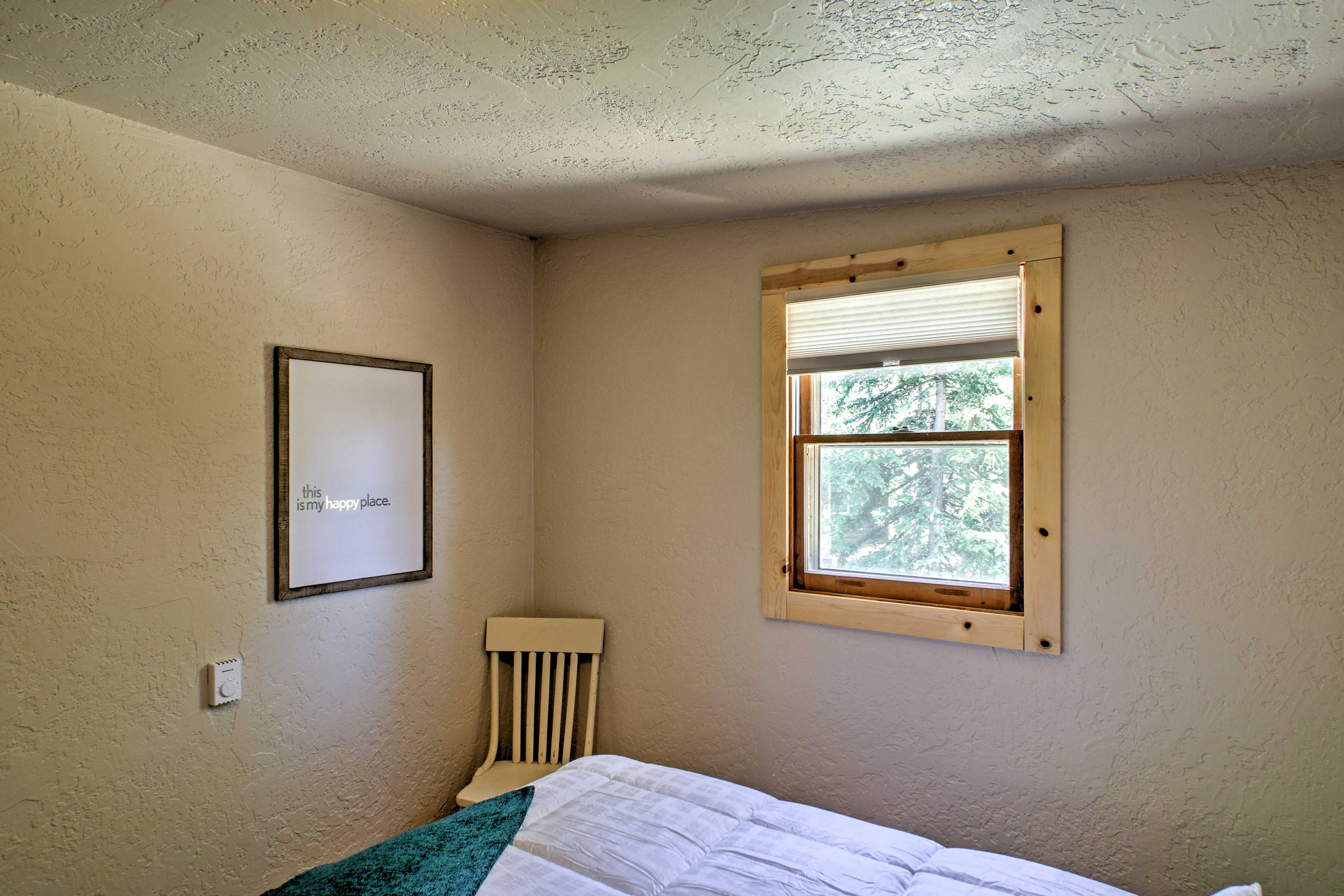 Natural light pours inside from the windows.