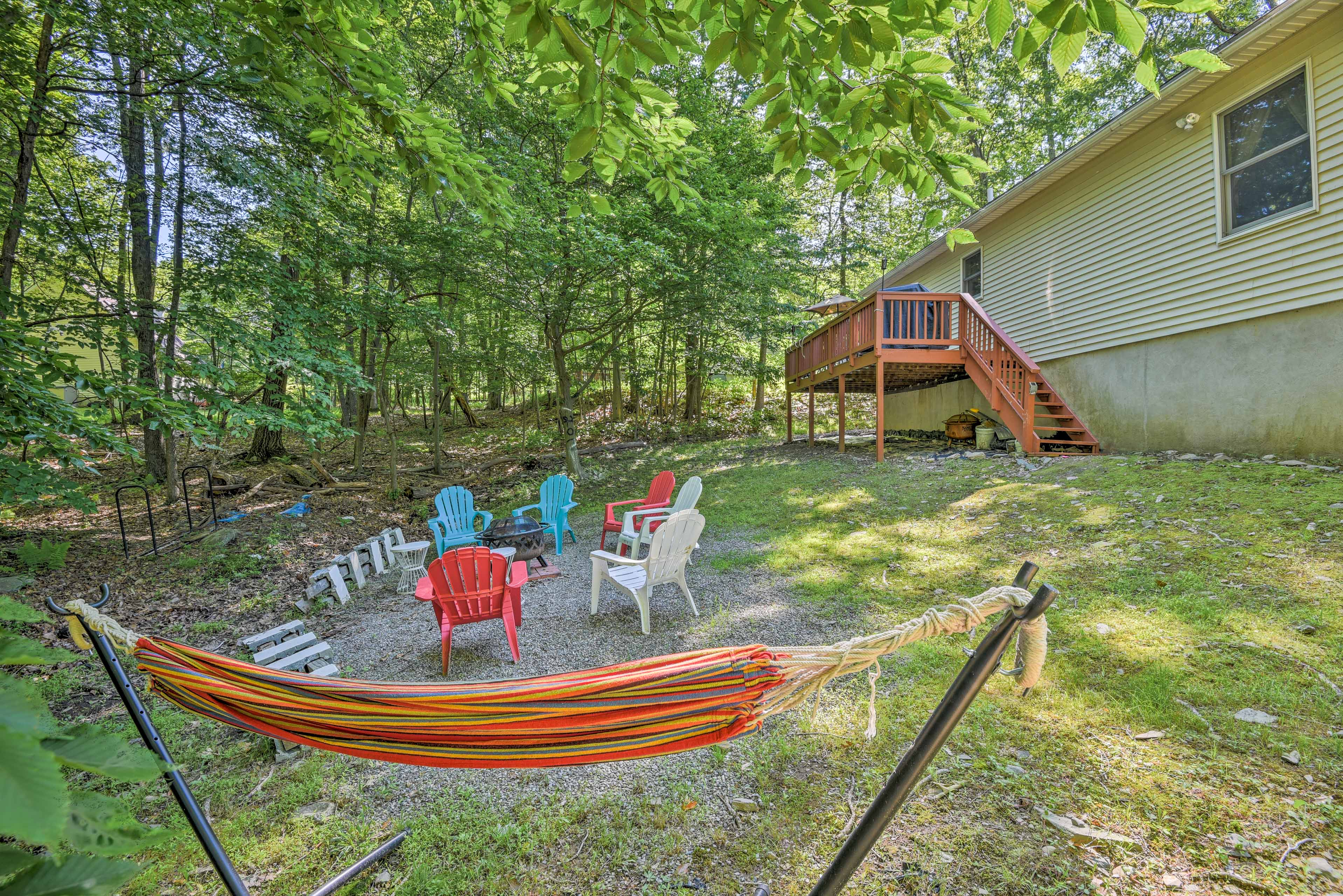 Book your Bushkill getaway to this beautiful vacation rental house!
