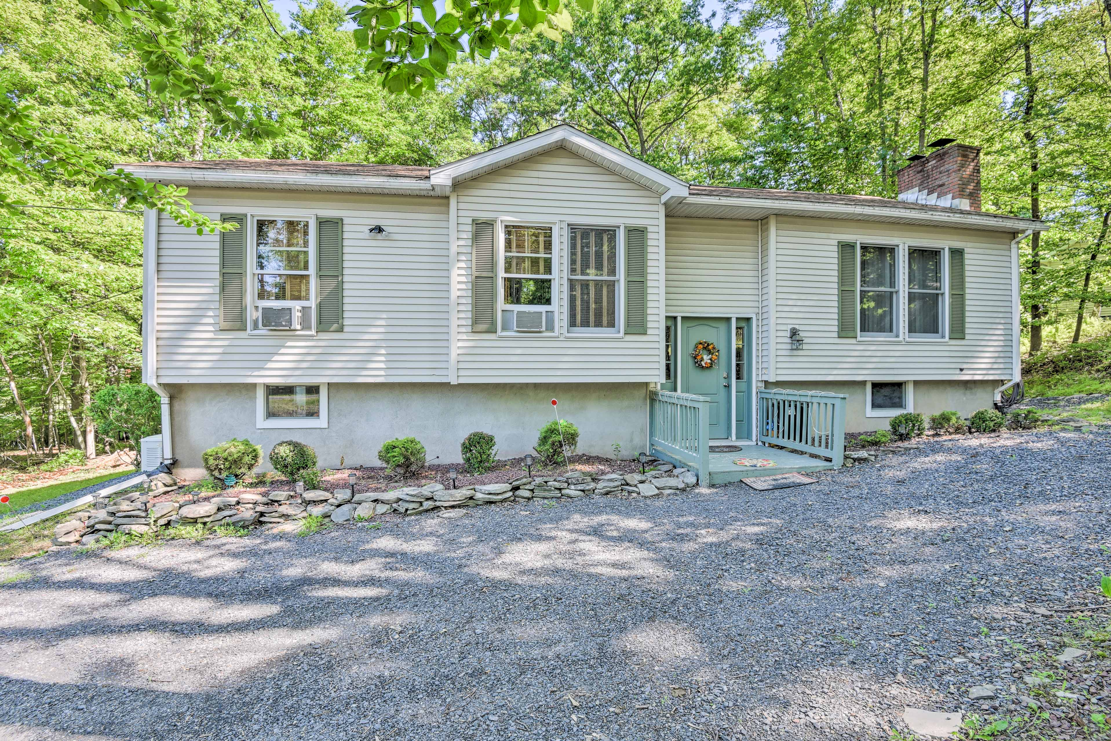 This 4BR, 2-bath property for 10 features a game room, a fun yard and more.