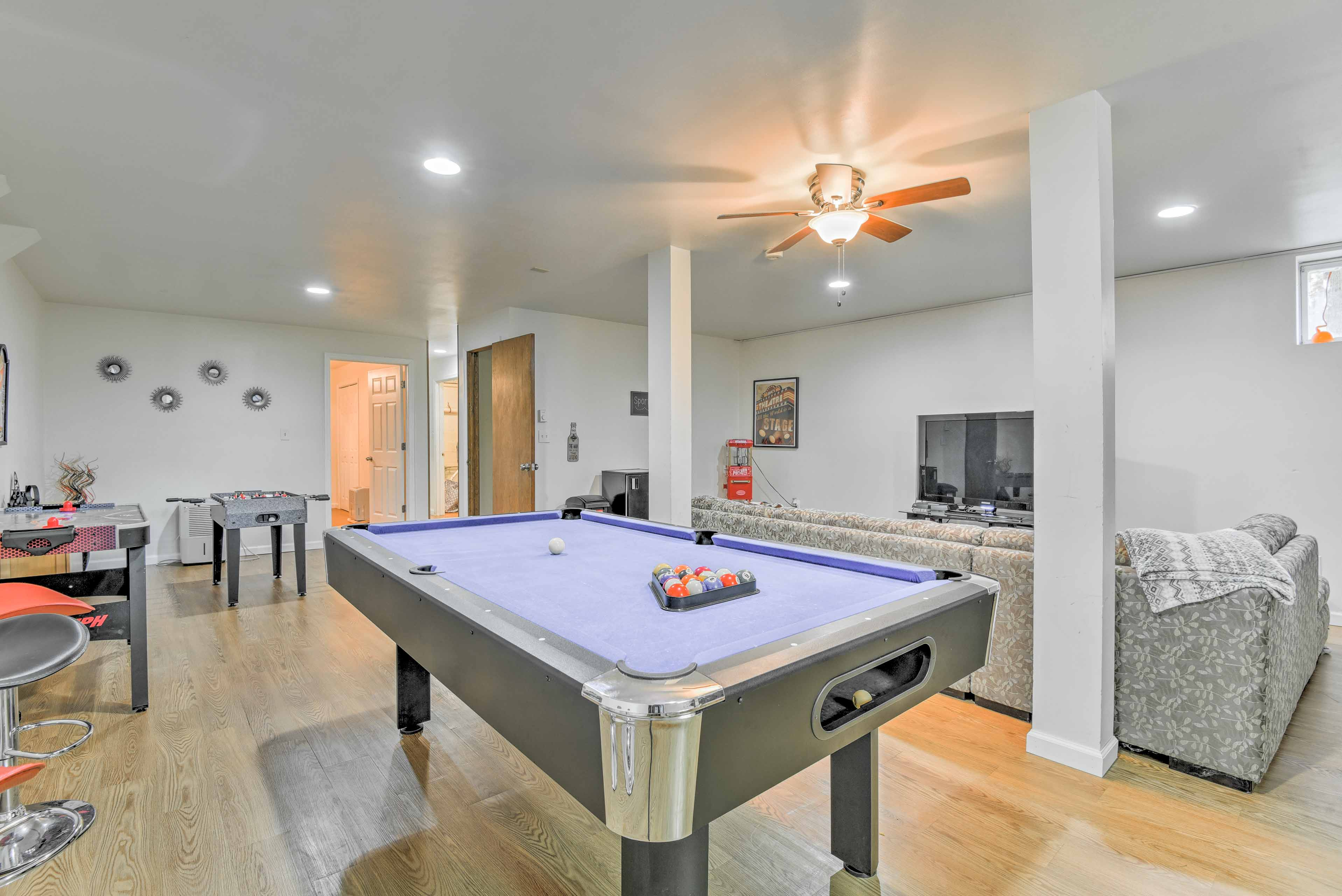 You'll have all the comforts of home in an ideal, quiet Bushkill location.